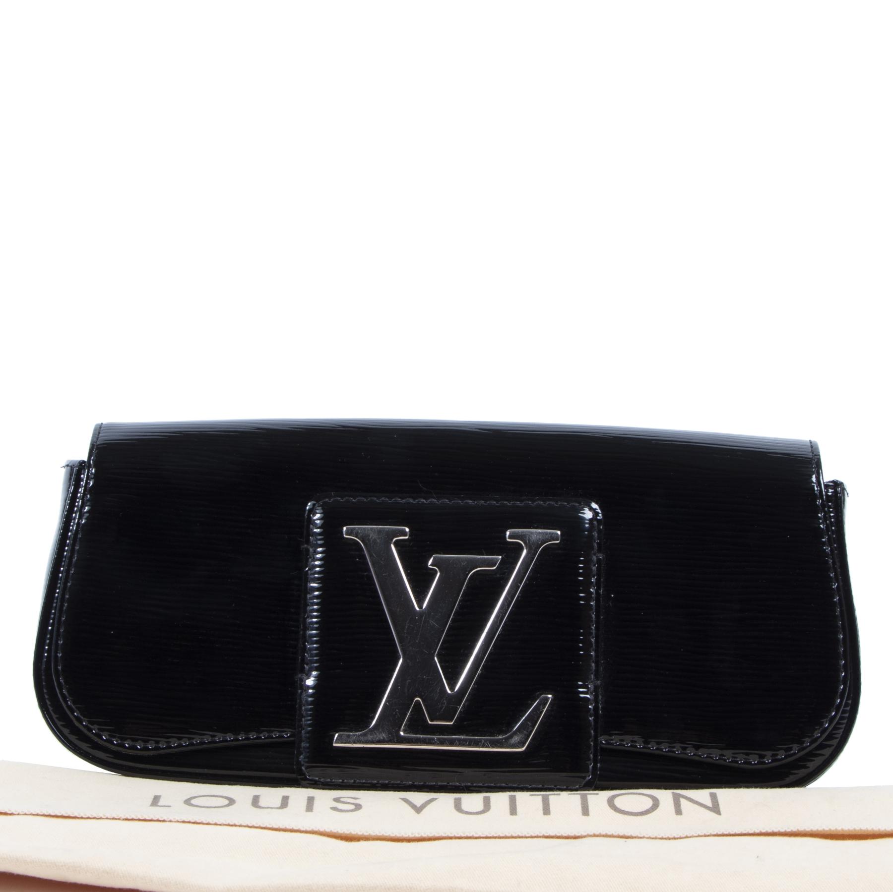 shop safe online Louis Vuitton Black Electric Epi Sobe Clutch