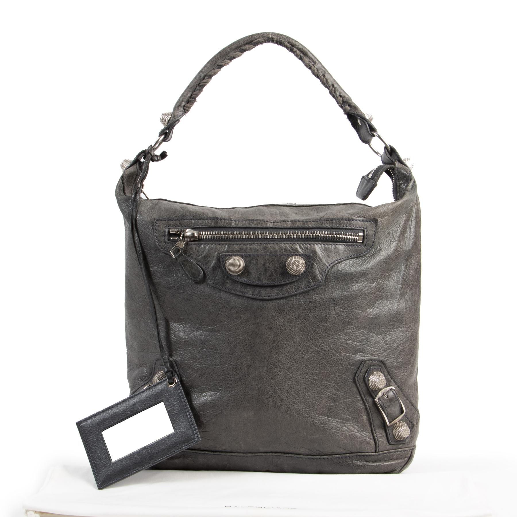 Balenciaga Grey Day Bag kopen aan de beste prijs bij Labellov tweedehands luxe