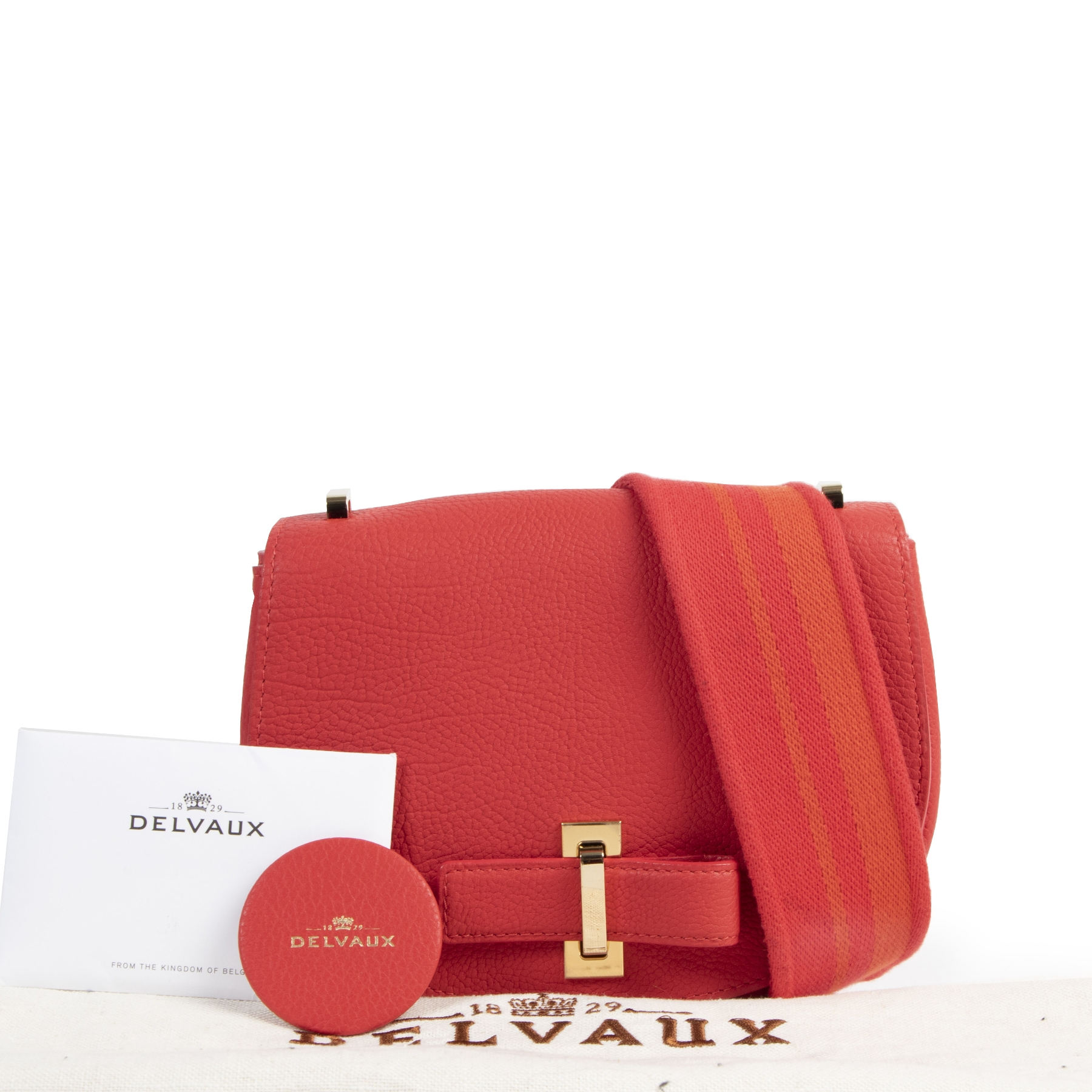 skip the waitinglist shop safe online Delvaux Corail Le Mutin