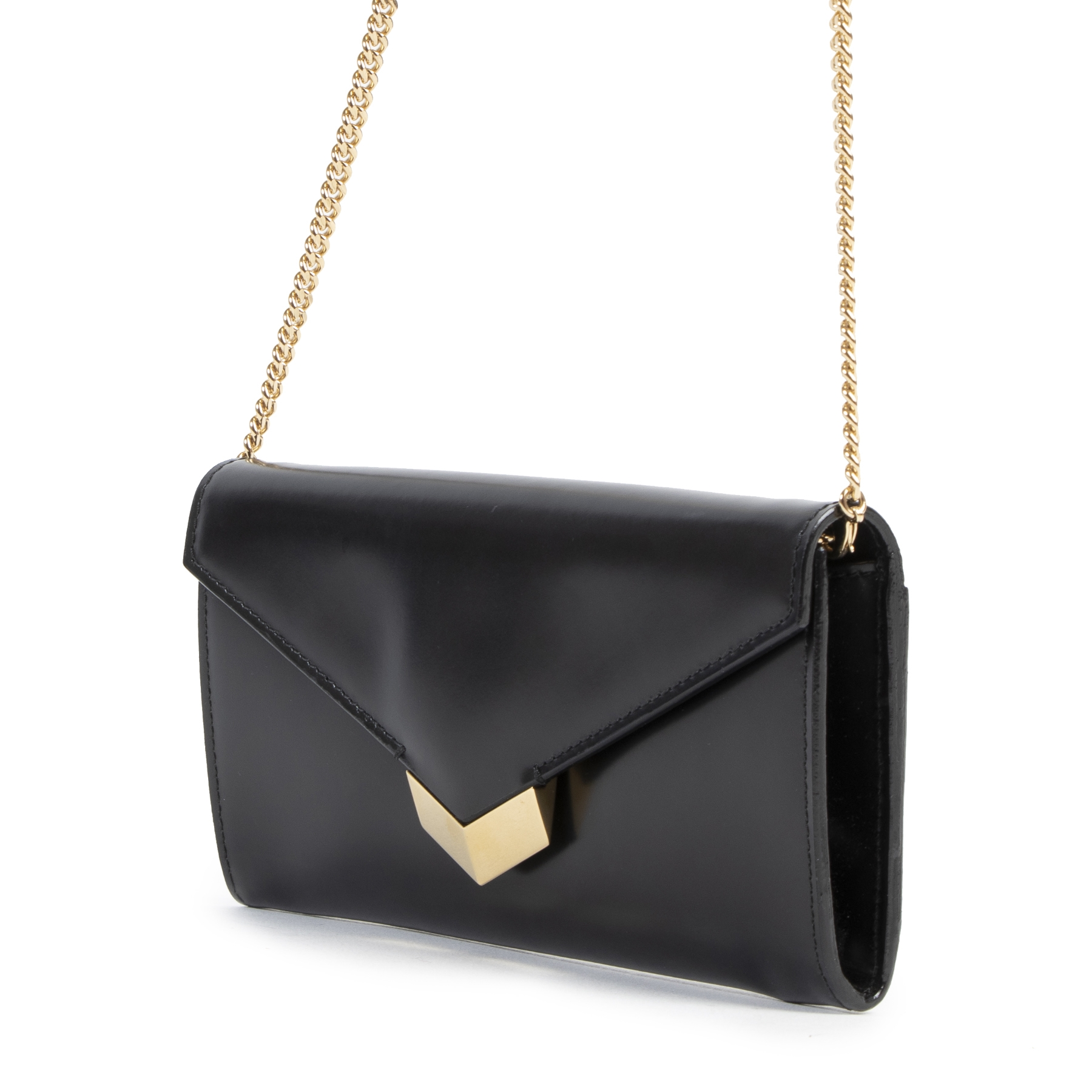 Jimmy Choo Black Lucile Clutch