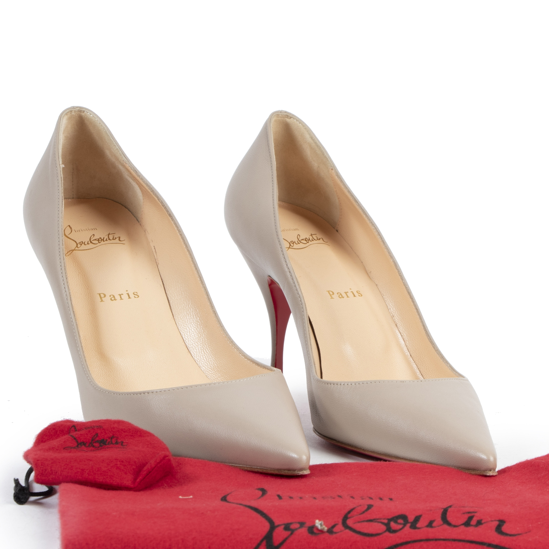 Authentique seconde-main vintage Louboutin Clare 80 Pumps - Size 39,5 achète en ligne webshop LabelLOV