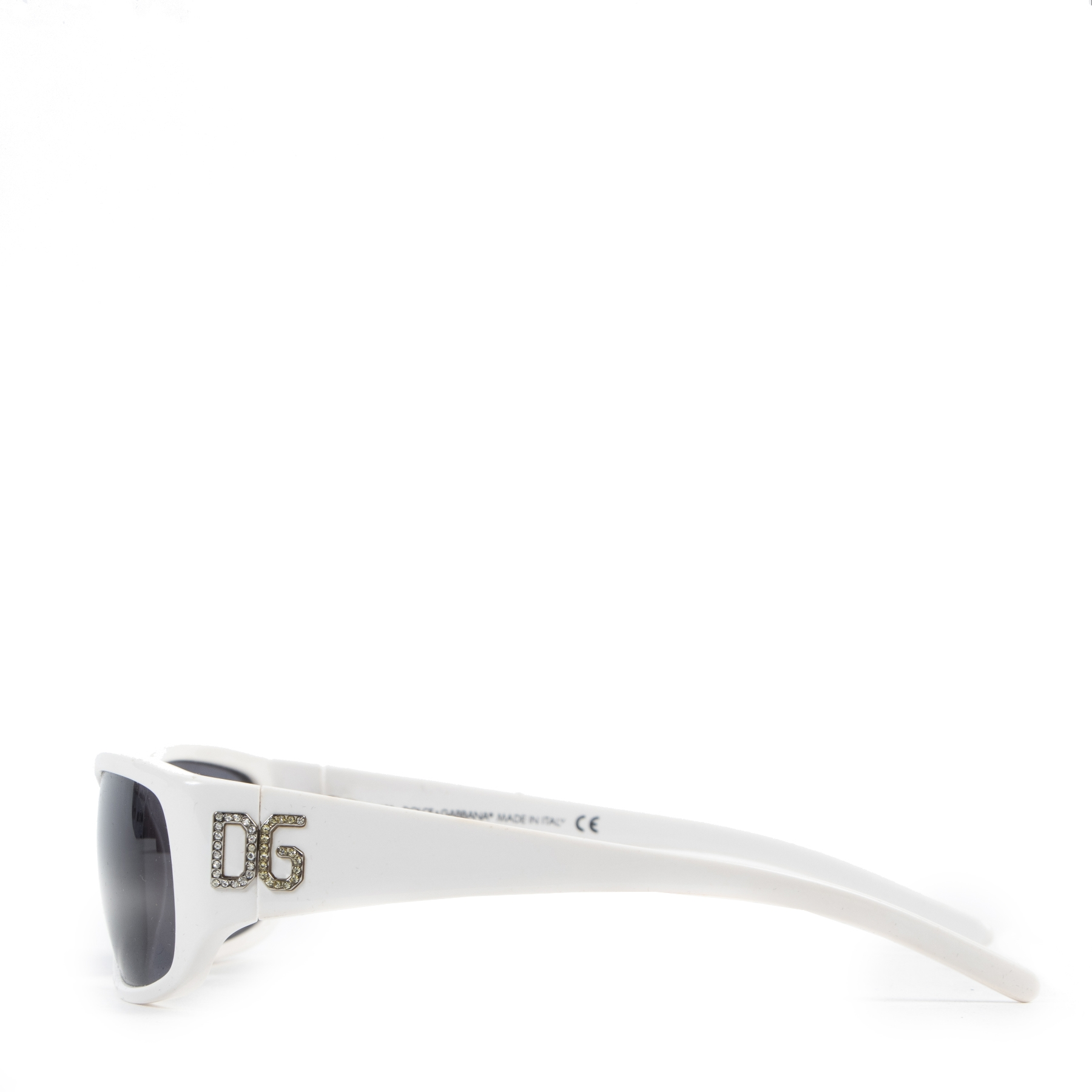 Dolce & Gabbana White Sunglasses