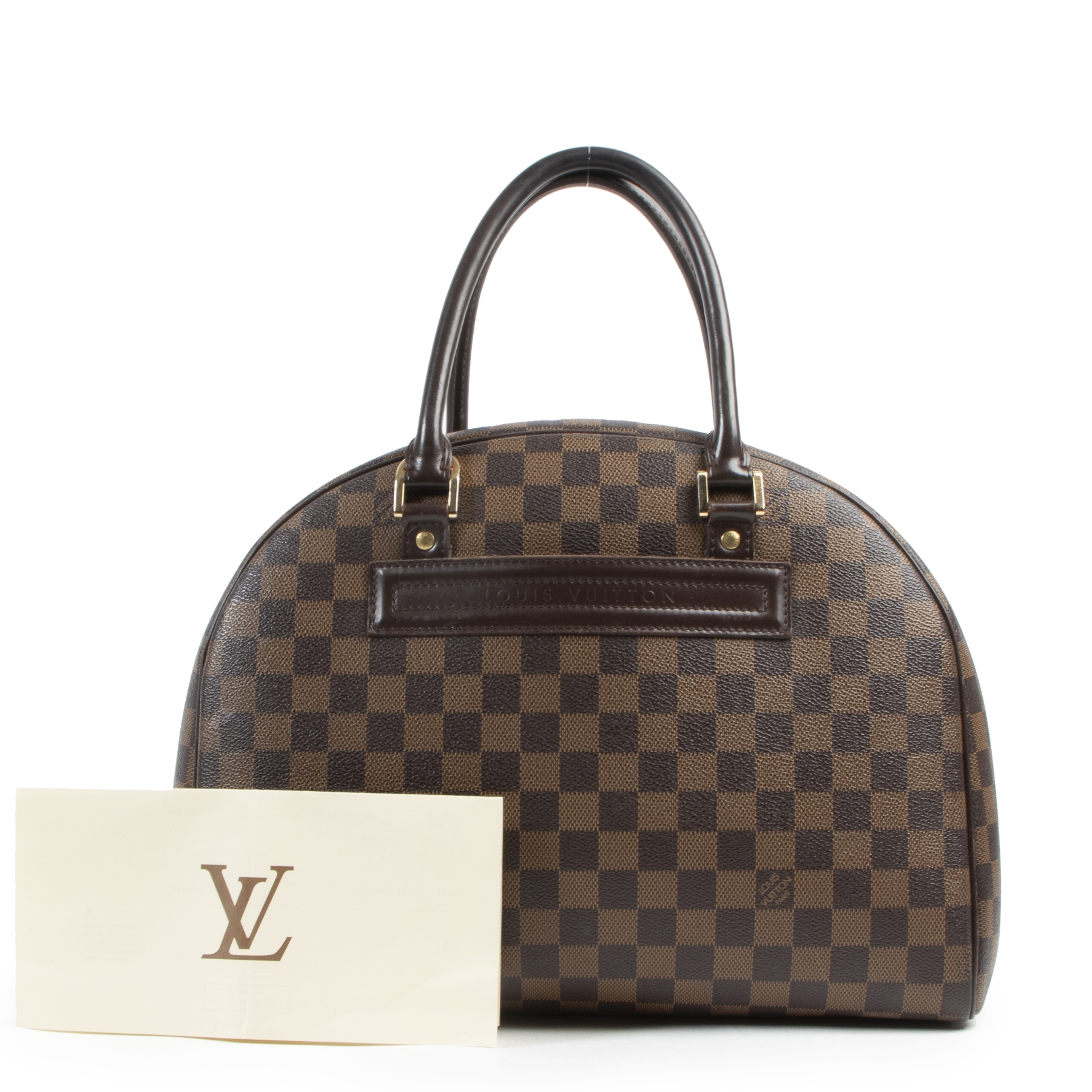 Louis Vuitton Damier Ebene Nolita Bag