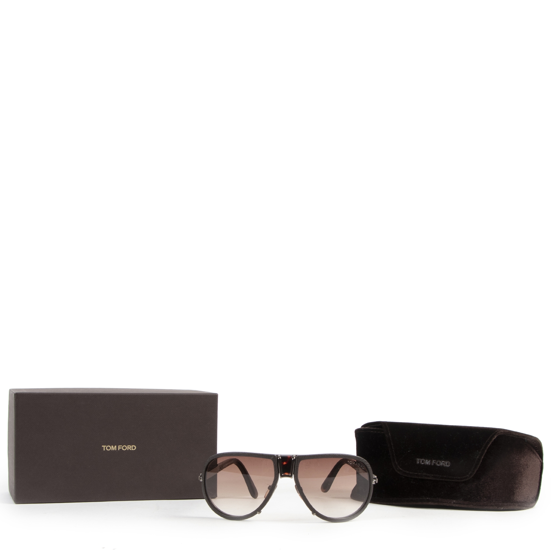 Tom Ford Humphrey Aviator Sunglasses