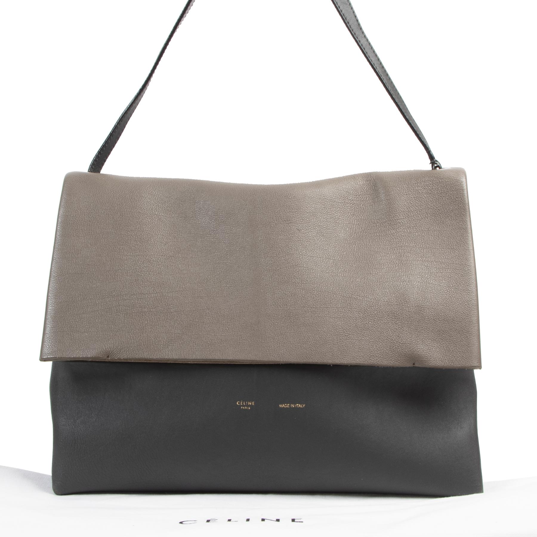 koop online tegen de beste prijs Celine Bicolor All Soft Cabas