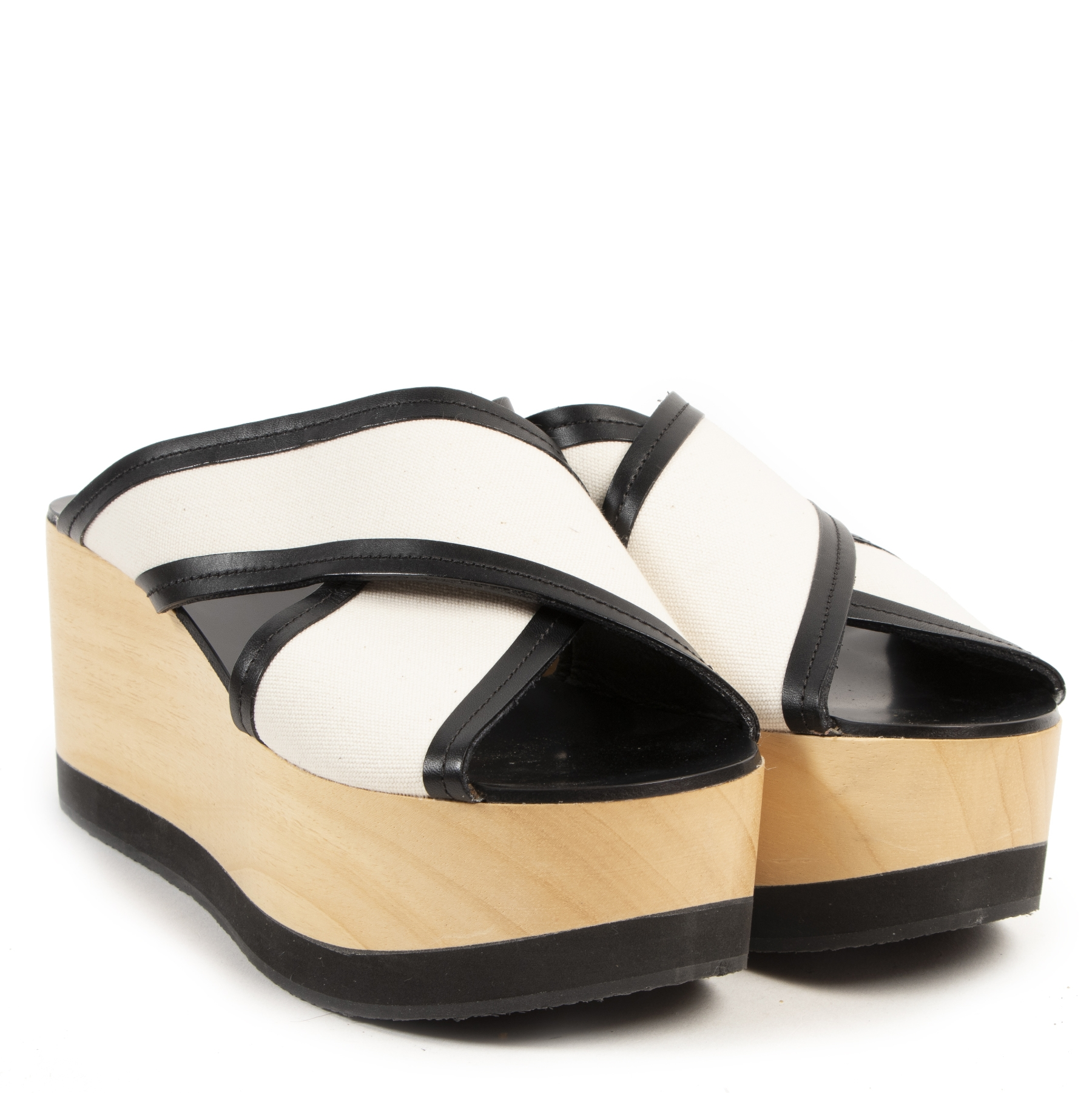Isabel Marant Ecru Zerry Wedge
