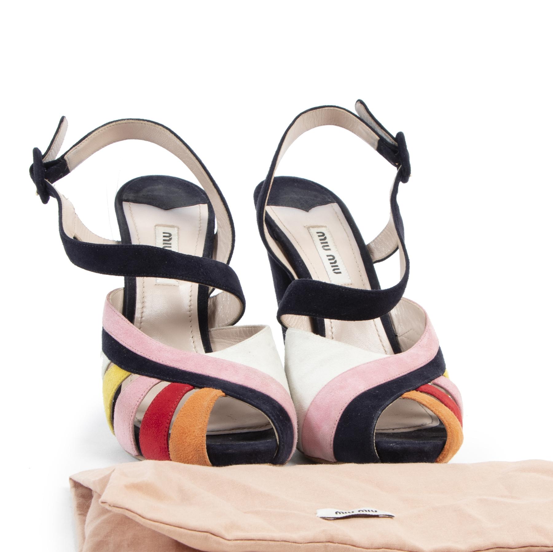 Buy preloved Miu Miu heels at LabelLOV Antwerp.
