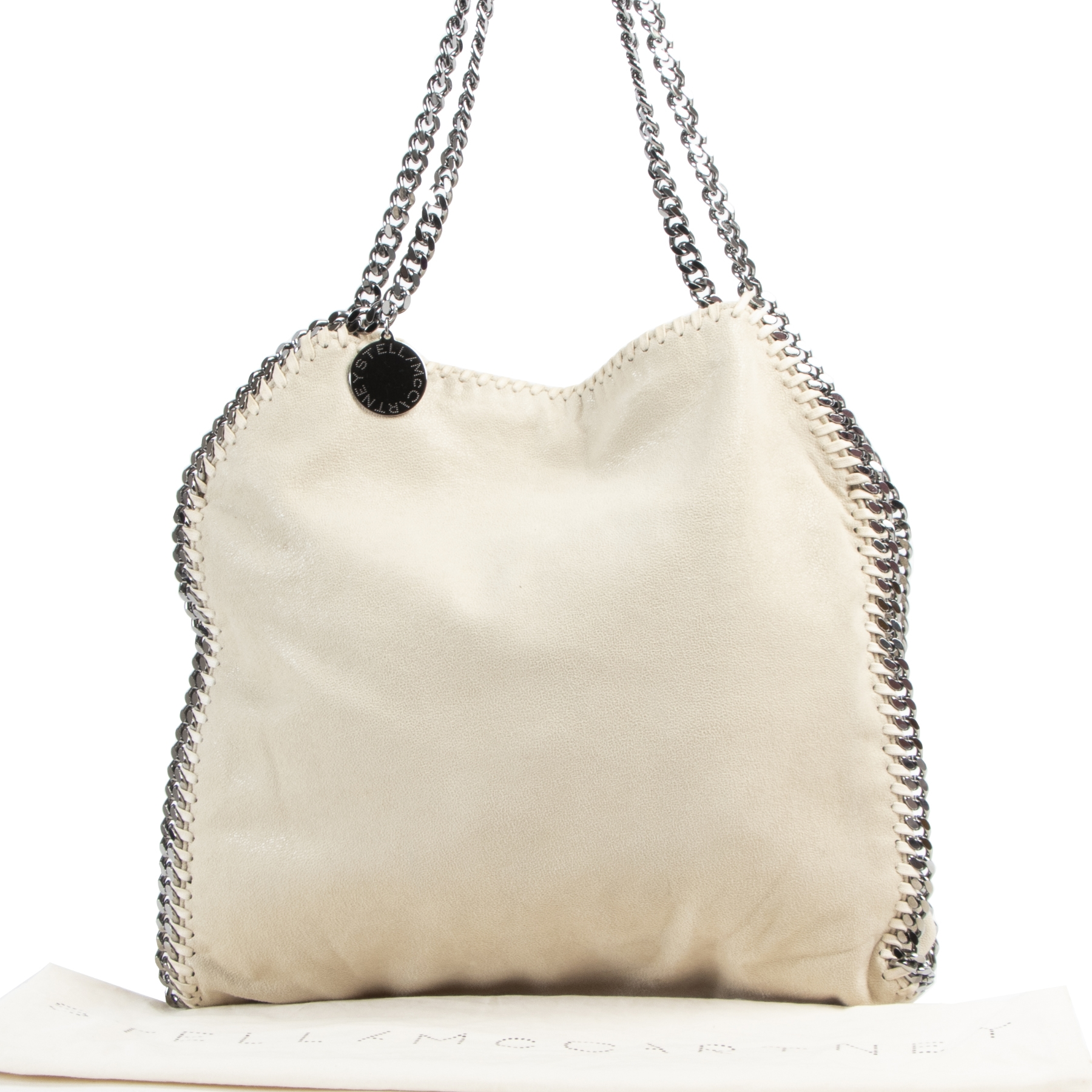 Stella McCartney Beige Falabella Shoulder Bag