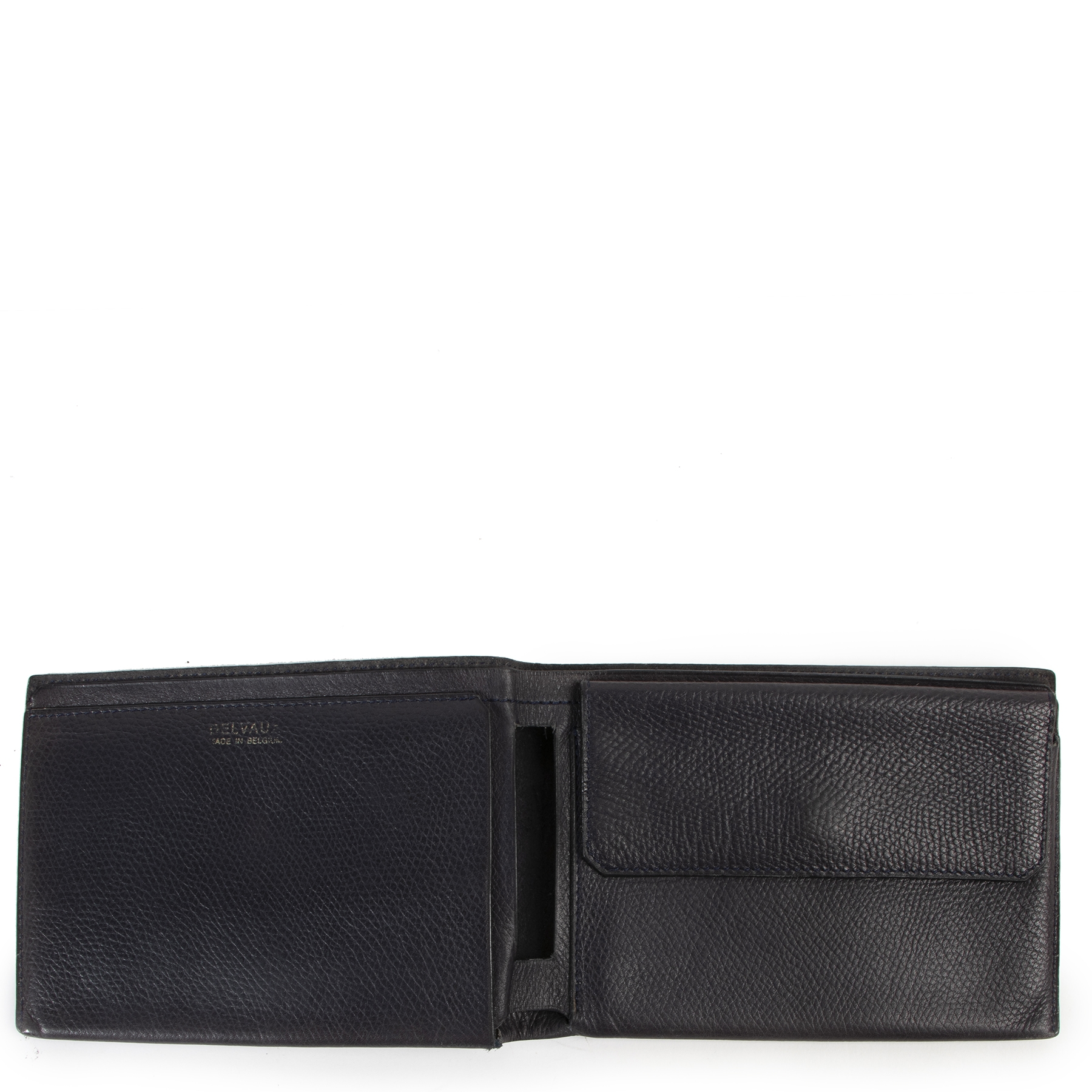 Are you looking for an authentic designer Delvaux Blue Flap Wallet?