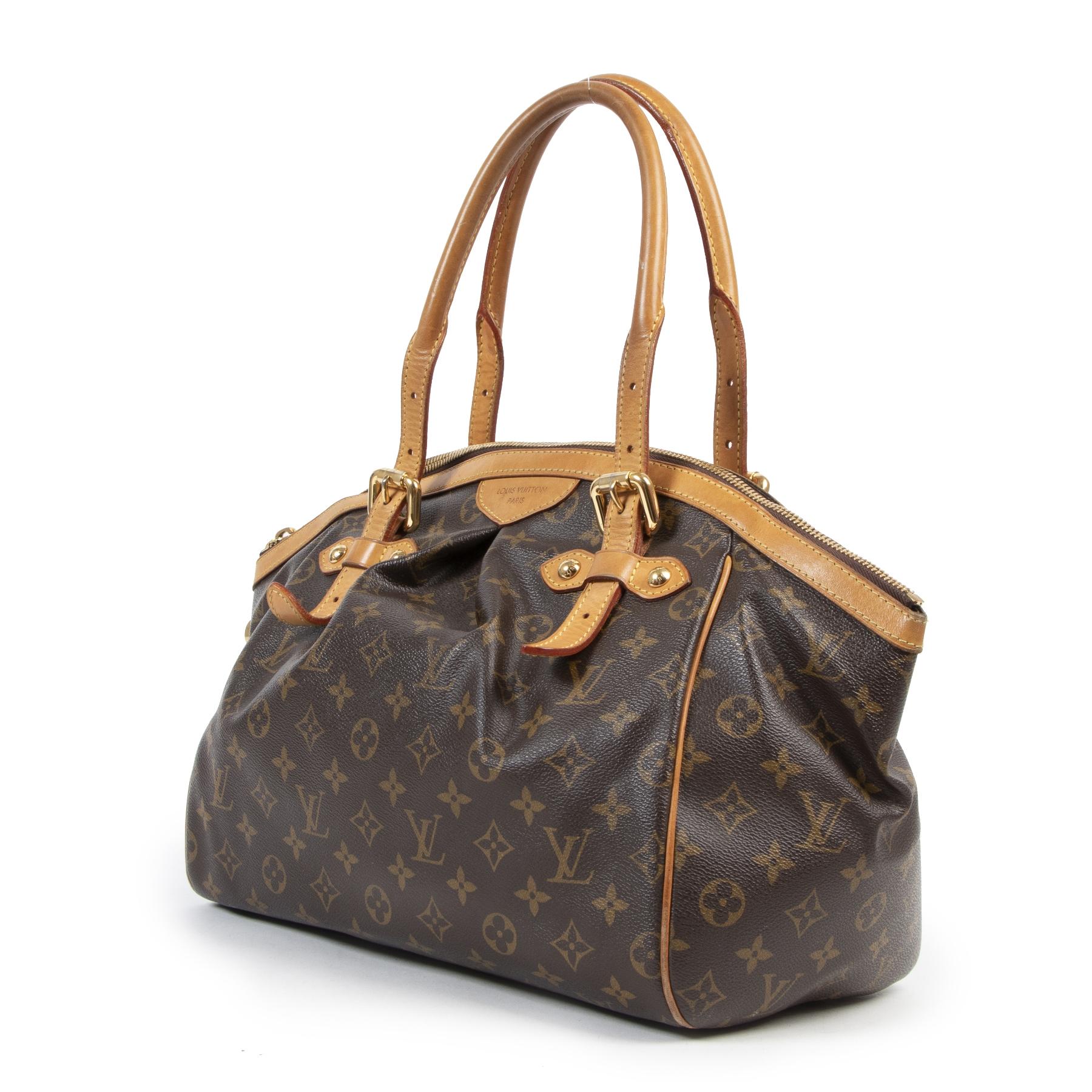 Authentieke Tweedehands Louis Vuitton Monogram Tivoli GM Bag juiste prijs veilig online shoppen luxe merken webshop winkelen Antwerpen België mode fashion