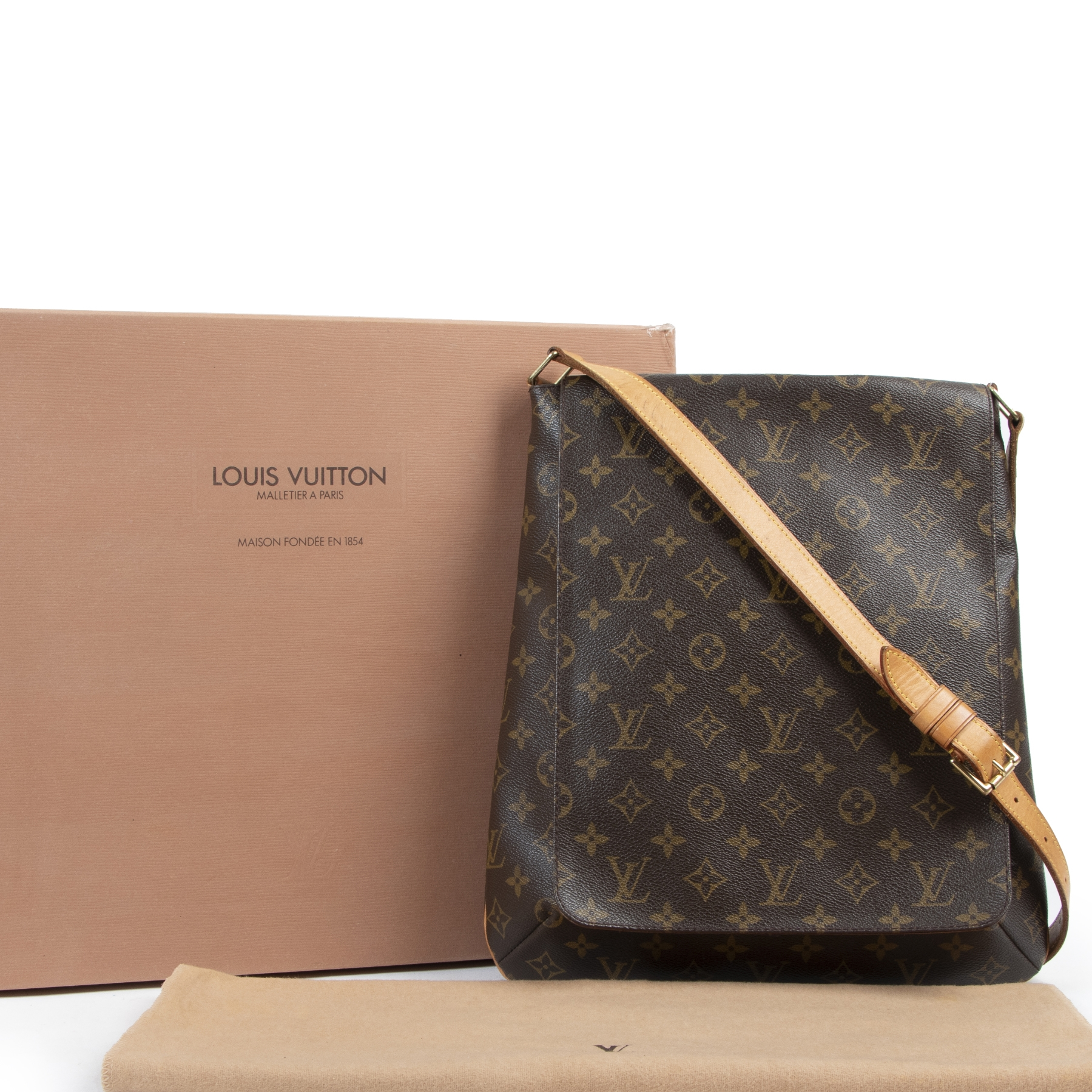 Louis Vuitton Musette Monogram Shoulder Bag