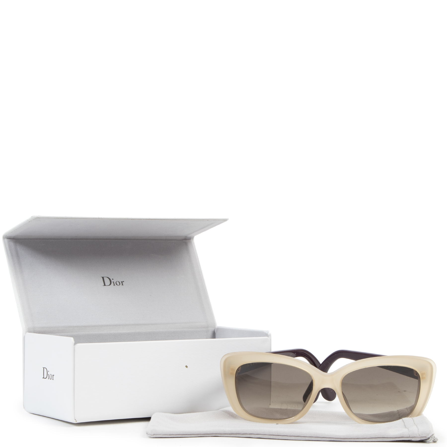 acheter en linge seconde main Christian Dior Promesse Sunglasses