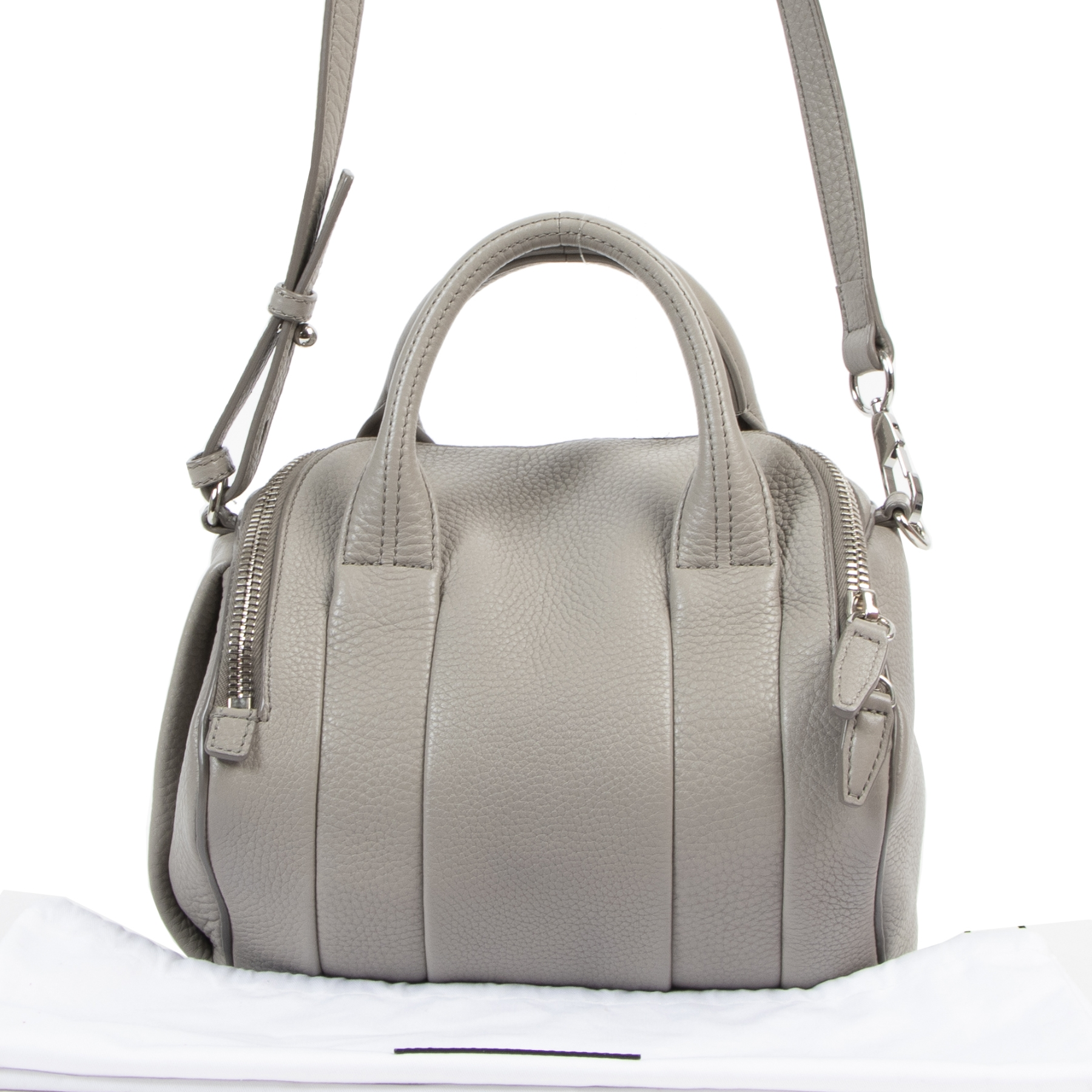 Alexander Wang Oyster Grey Small Rocco Bag