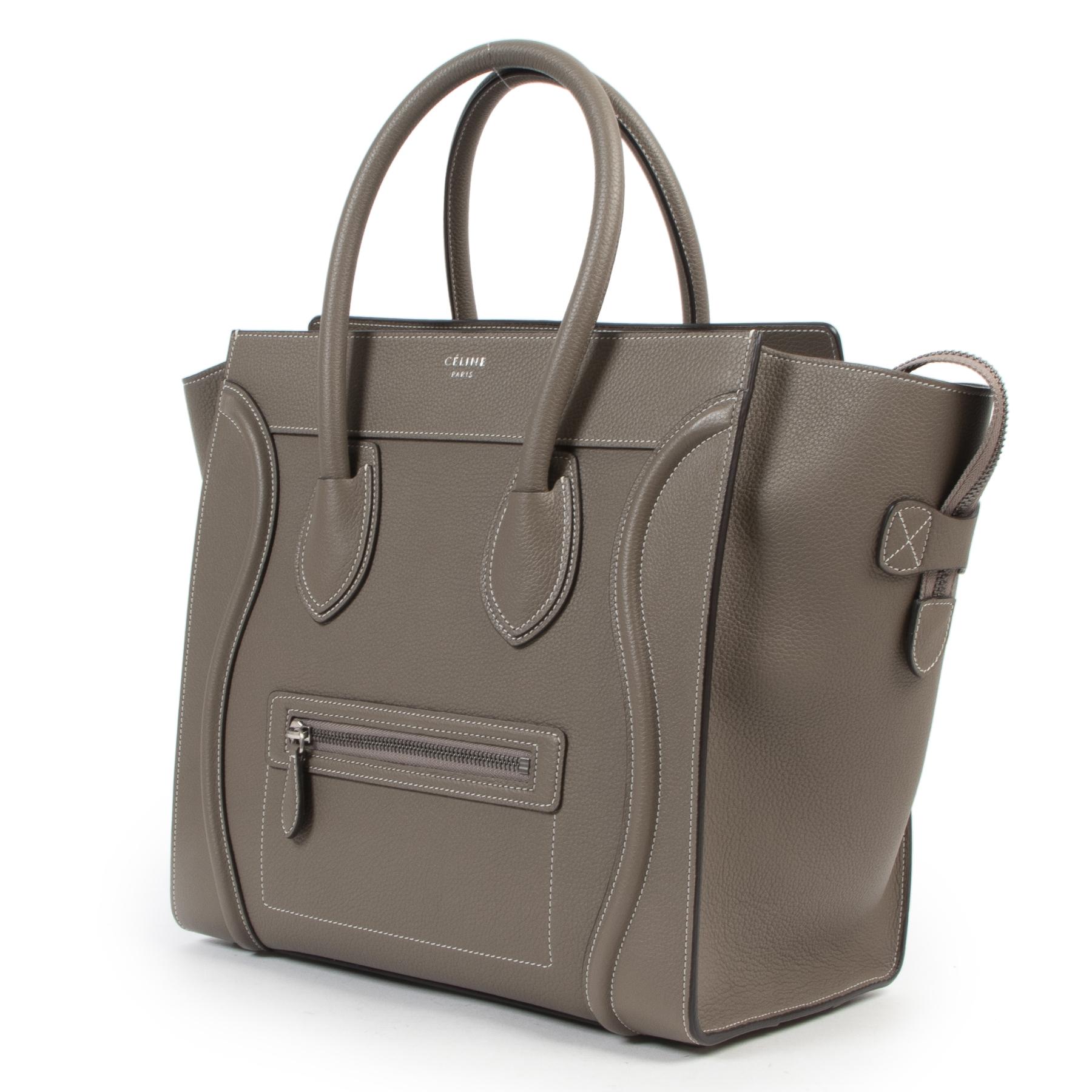 Céline Souri Mini Luggage Tote shop safe online