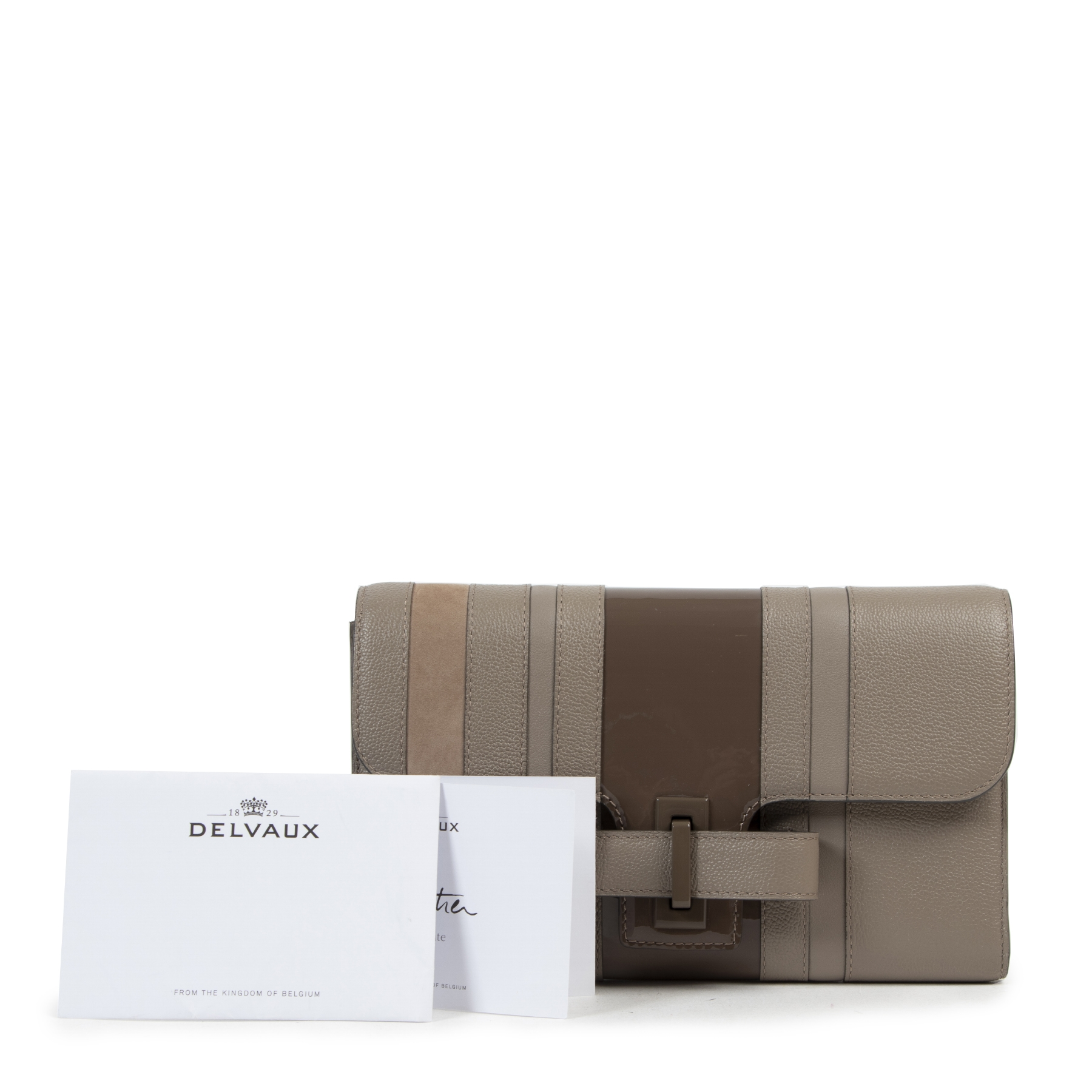 We buy and sell your authentic designer Delvaux Simplissime Travel Wallet Shades Camaïeux