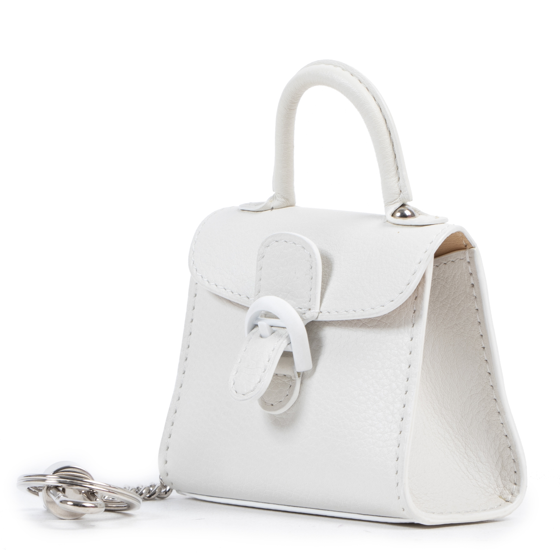Delvaux Brillant Charm Polo Ivory
