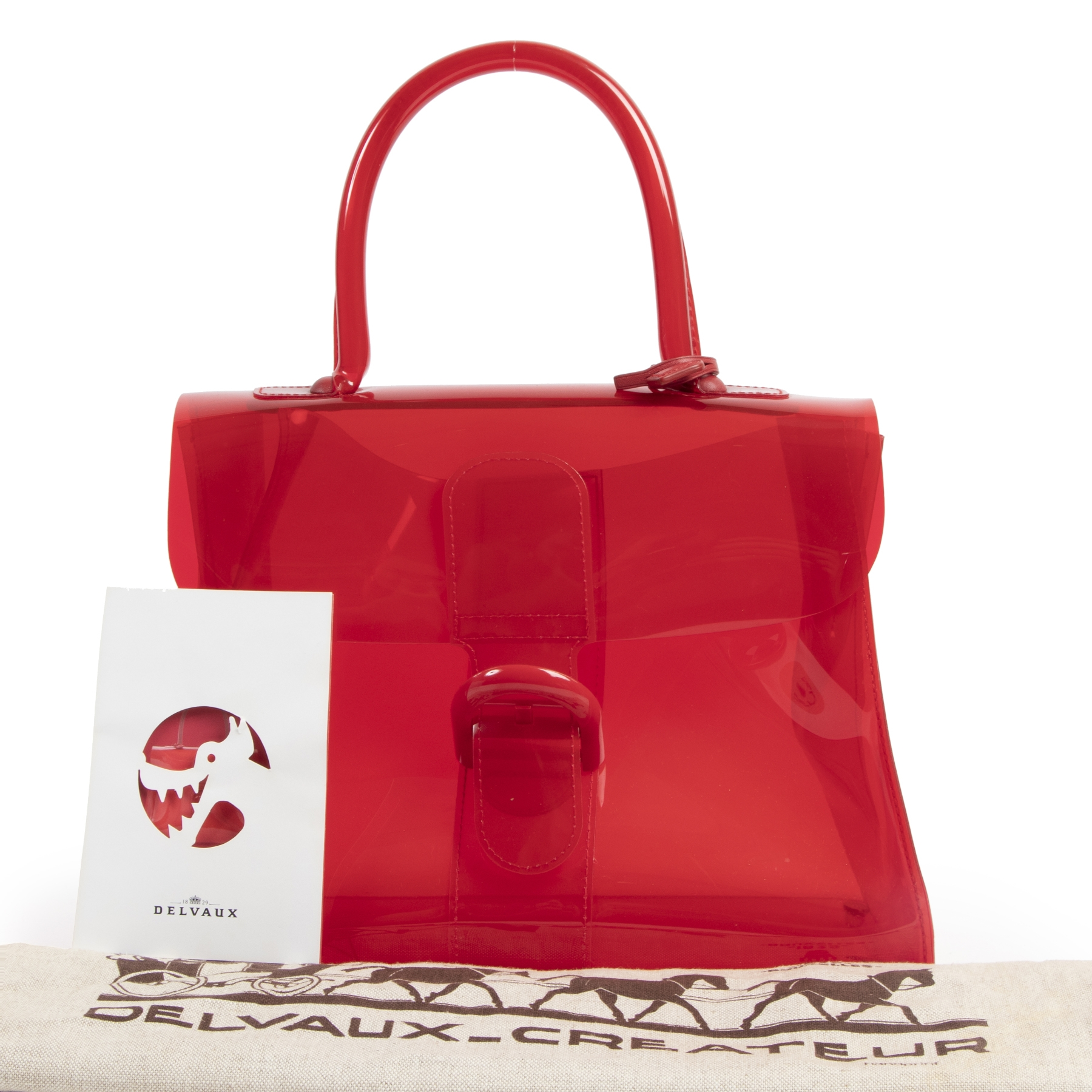 We buy and sell your authentic designer Delvaux Le Chaperon Rouge Vinyl Brillant Bag
