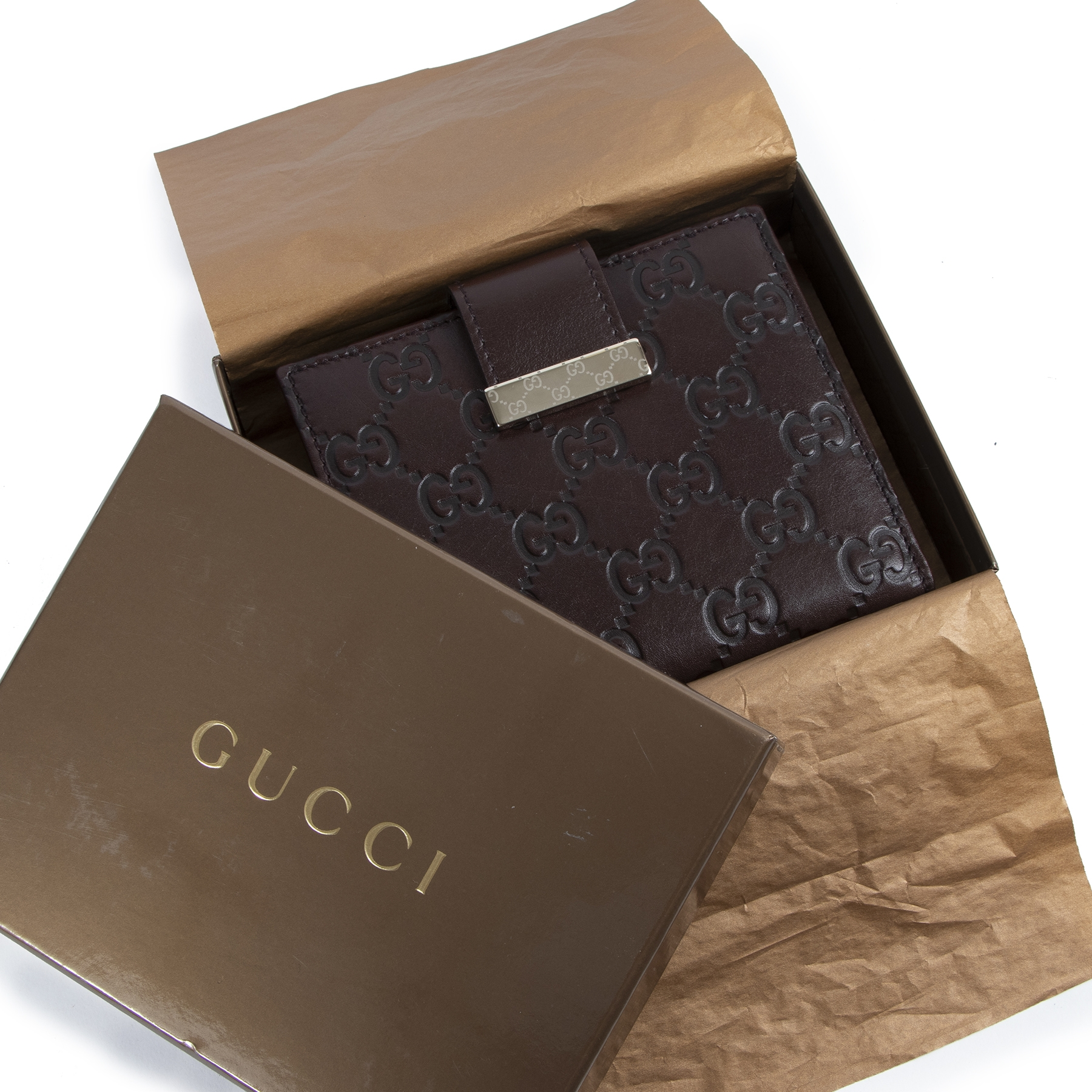 skip the waiting list Gucci Guccissima Medium Flap Wallet