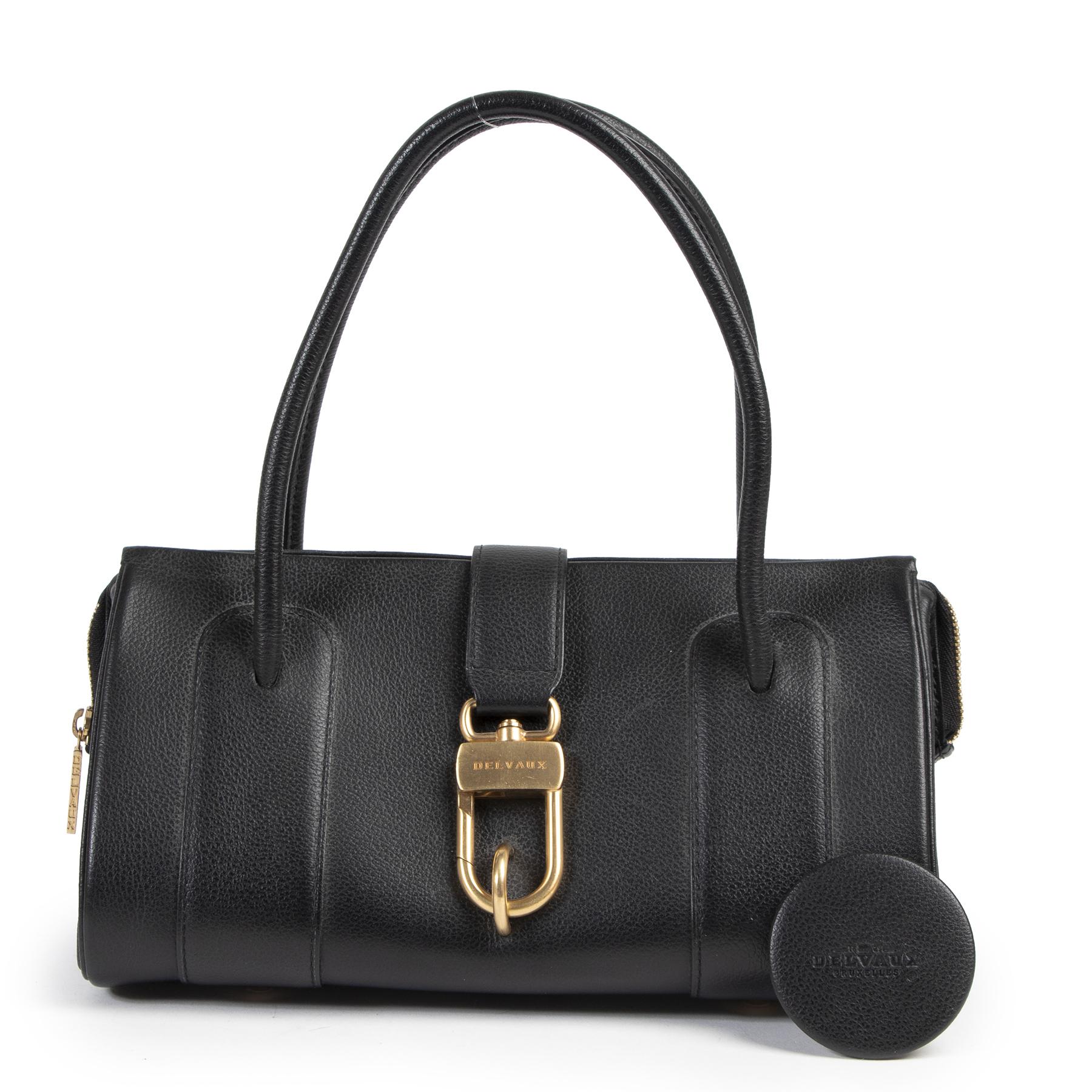 Delvaux Black Top Handle Bag kopen en verkopen aan de beste prijs bij Labellov tweedehands luxe