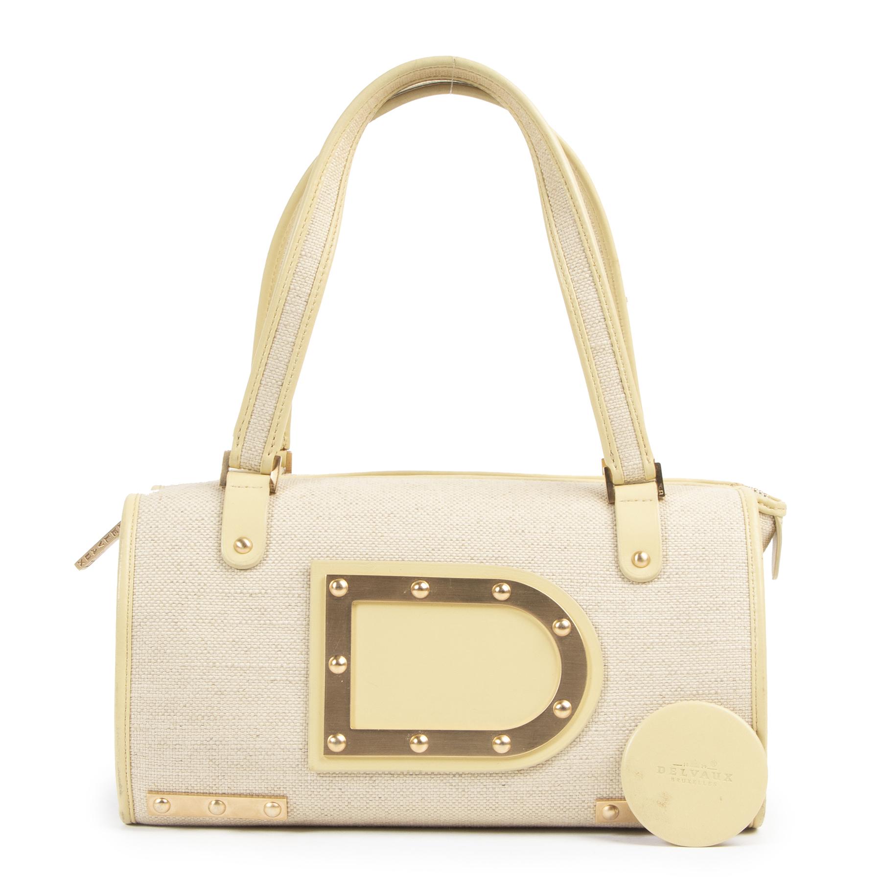 Authentic secondhand Delvaux designer bags luxury vintage webshop fashion safe secure online shopping