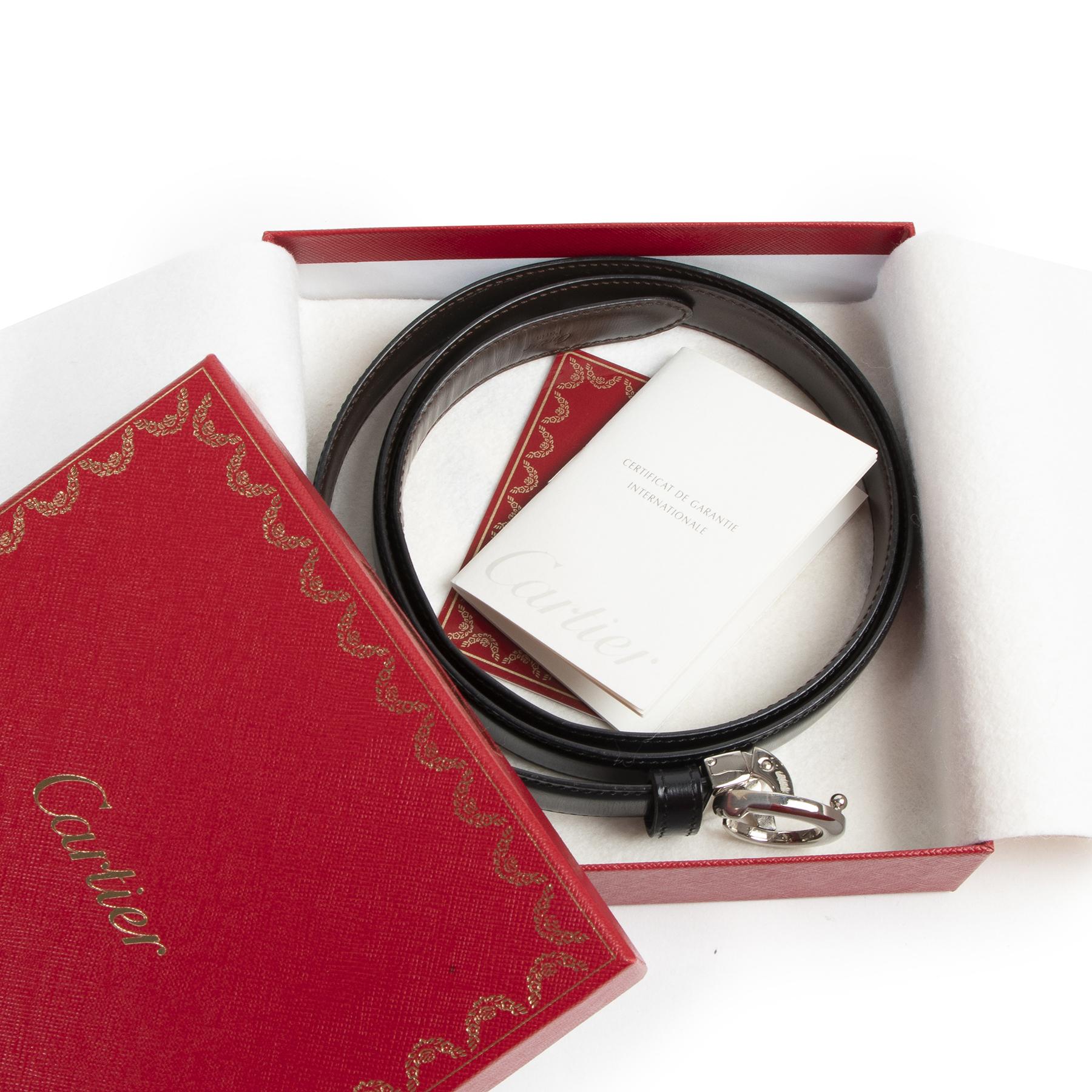 Authentic secondhand Cartier belt designer bags luxury vintage webshop fashion safe secure online shopping designer brands