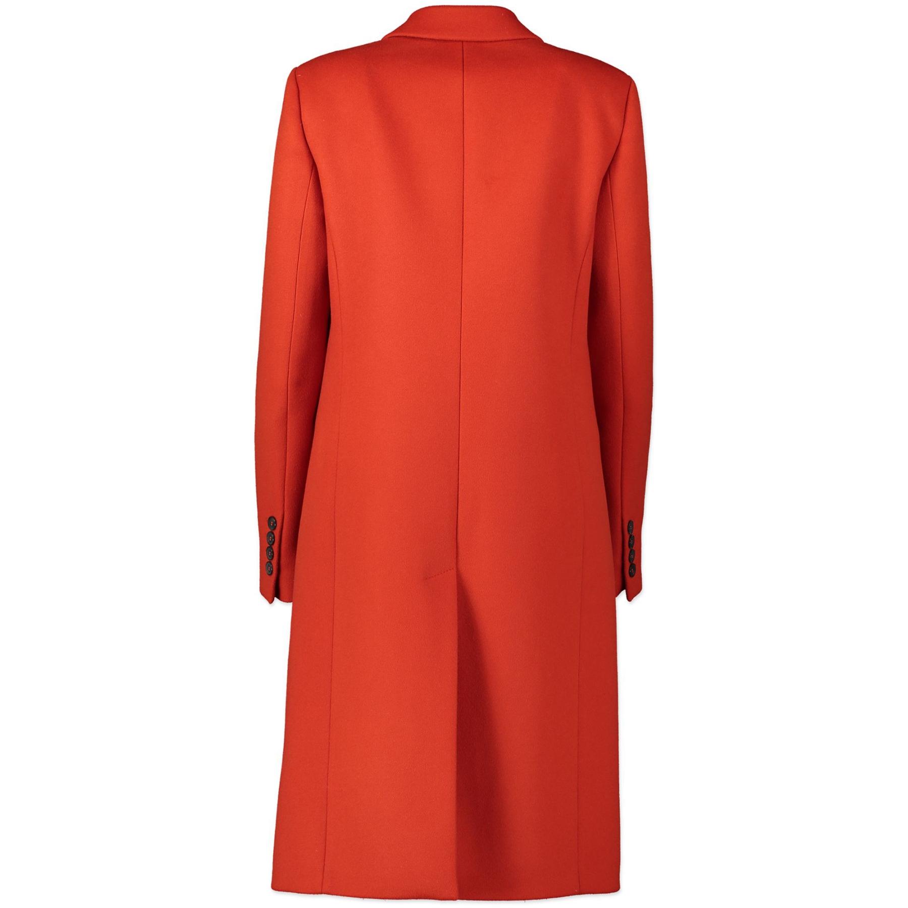 Gucci Dark Orange Long Wool Coat