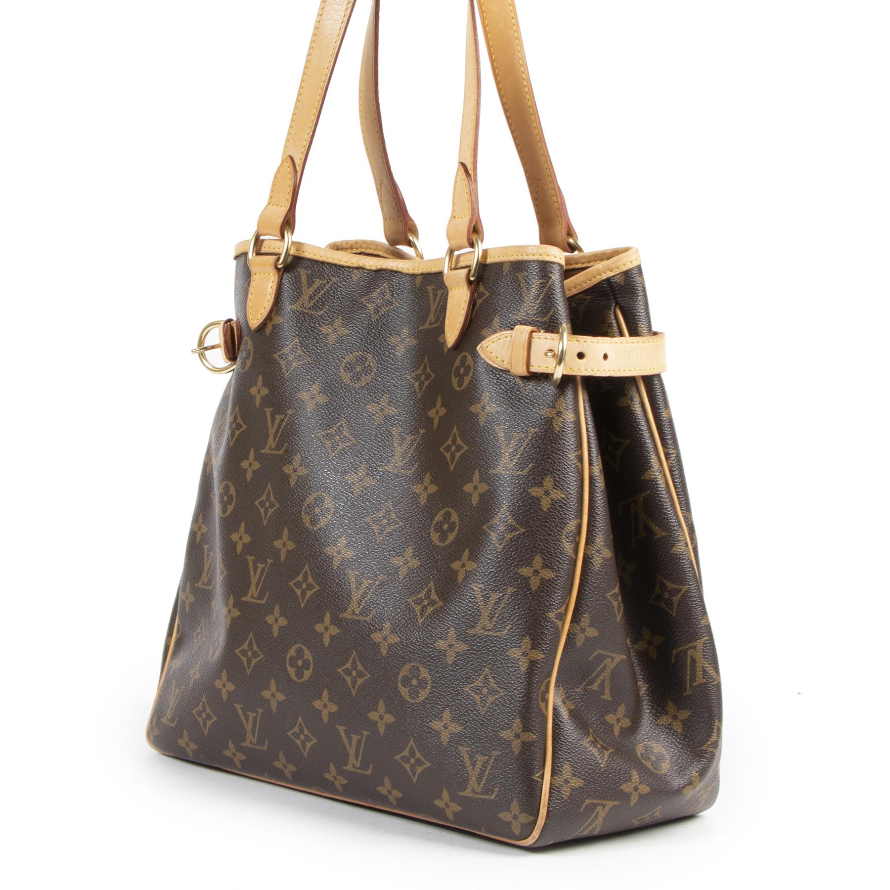 Louis Vuitton Batignolles Monogram Shoulder Bag pour le meilleur prix chez Labellov