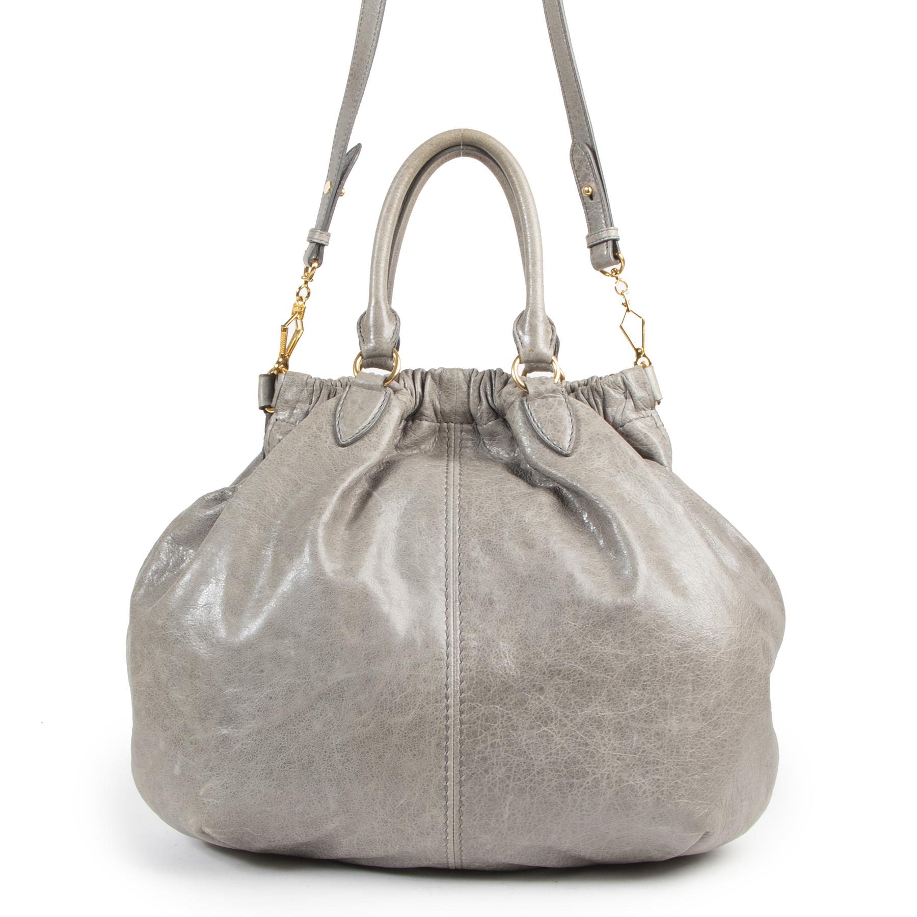 Authentic secondhand Miu Miu designer bags luxury vintage webshop fashion safe secure online shopping designer