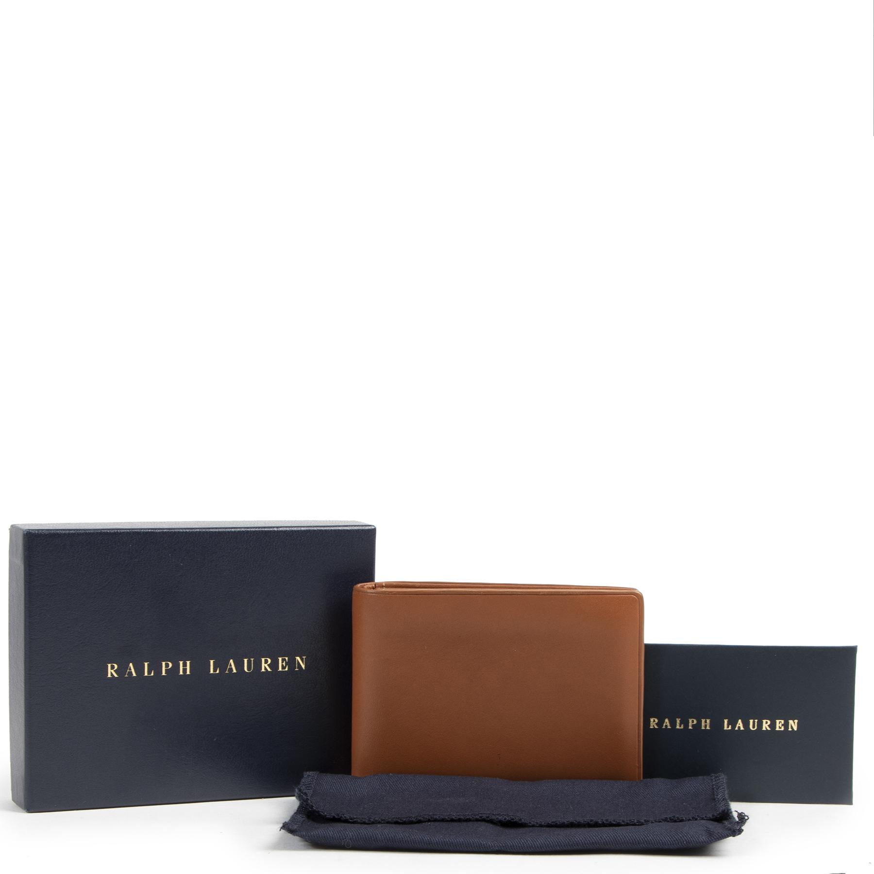 Authentieke tweedehands Ralph Lauren kaarthouder juiste prijs veilig online winkelen Antwerpen België mode fashion LabelLOV