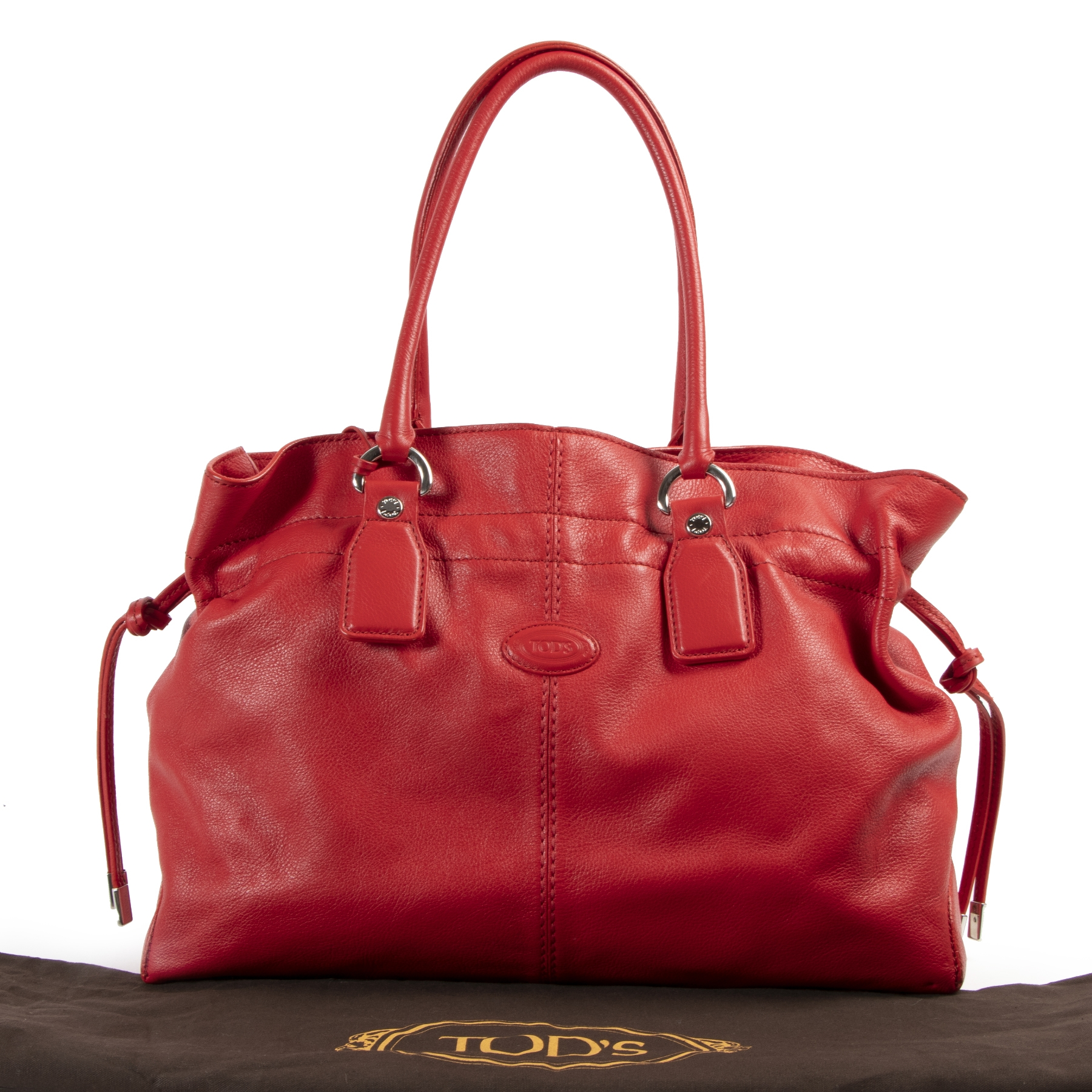 Authentieke tweedehands Tods handtassen LabelLOV Antwerpen webshop Authentic secondhand Tods bags LabelLOV Antwerp Authentique second-main sacs-à-main LabelLOV Anvers