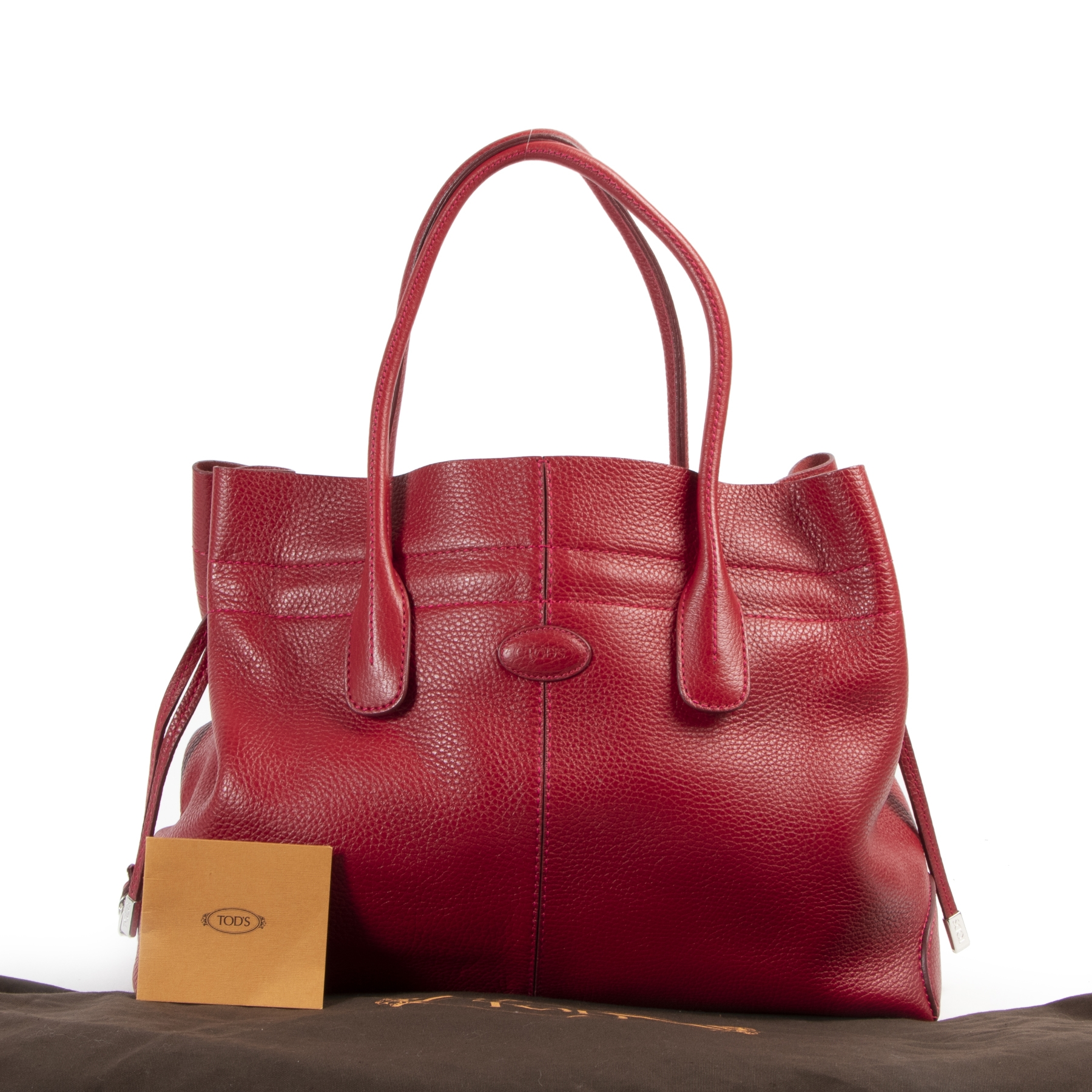 Authentieke tweedehands Tods handtassen LabelLOV Antwerpen online webshop Authentique second-main Tods sacs-à-main webshop Authentic secondhand preloved handbags Tods LabelLOV Antwerp online webshop