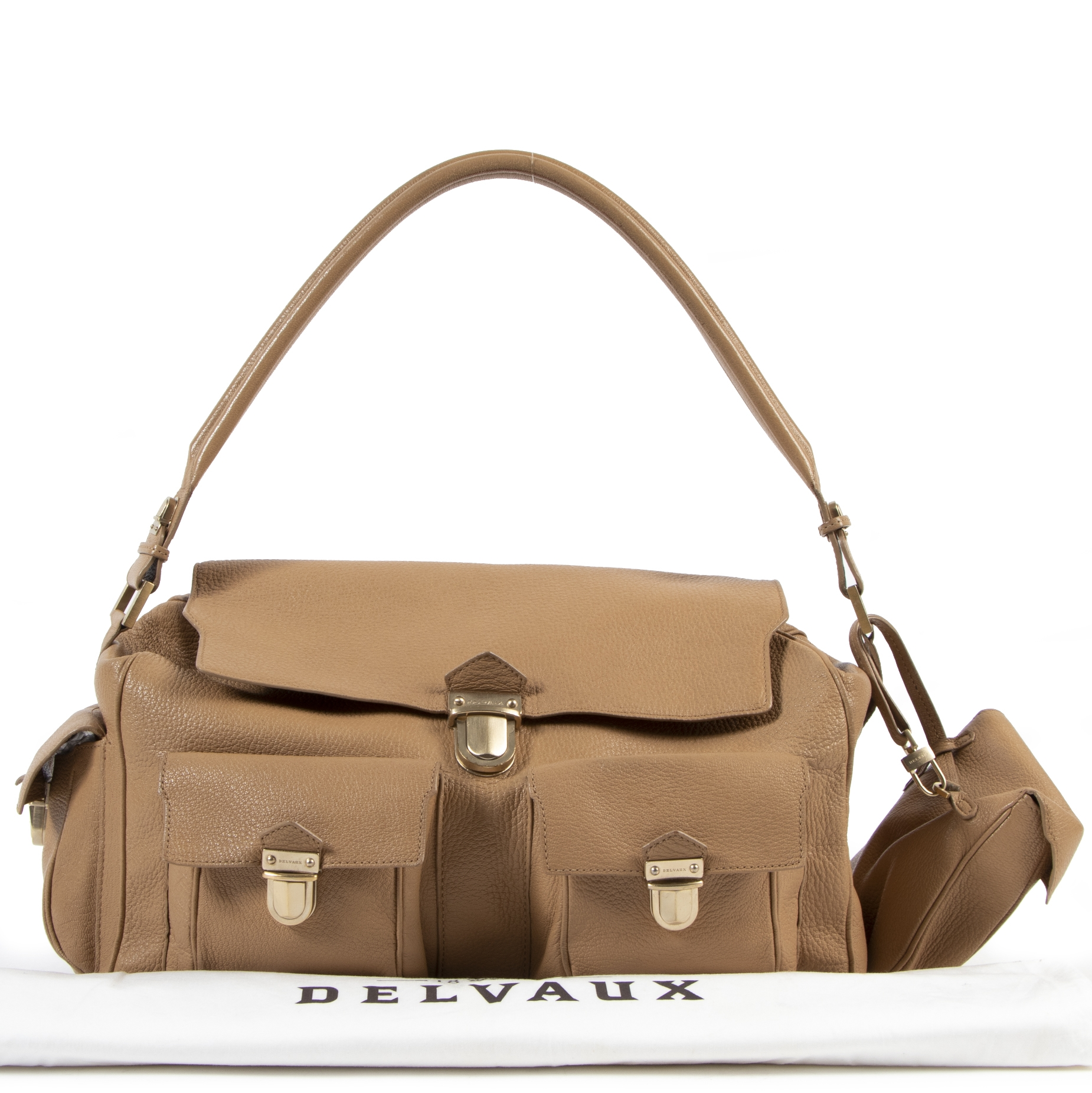 Are you looking for a Delvaux Coquin Poches Blush Shoulder Bag