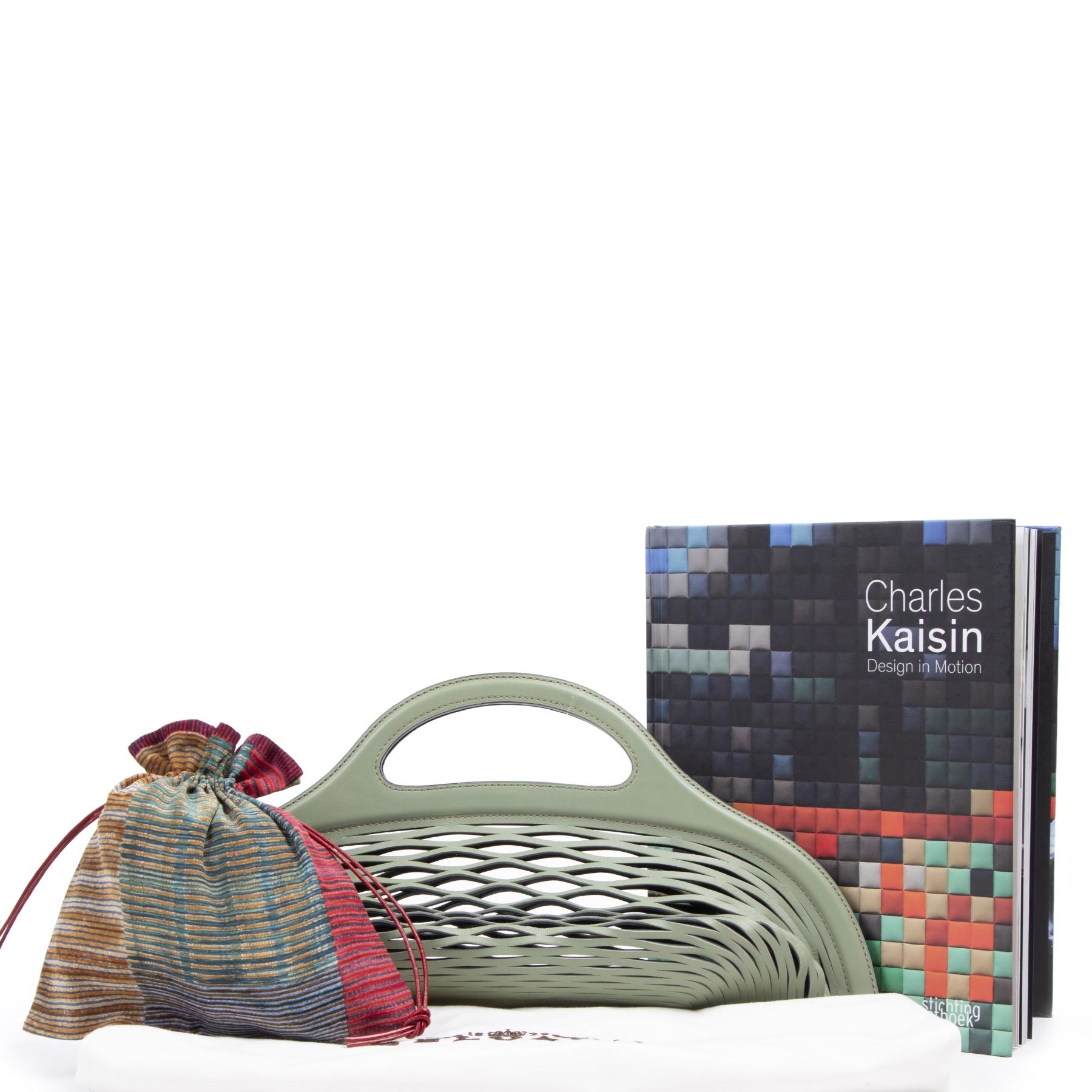 Delvaux Limited Edition Black Kaisin Basket Bag