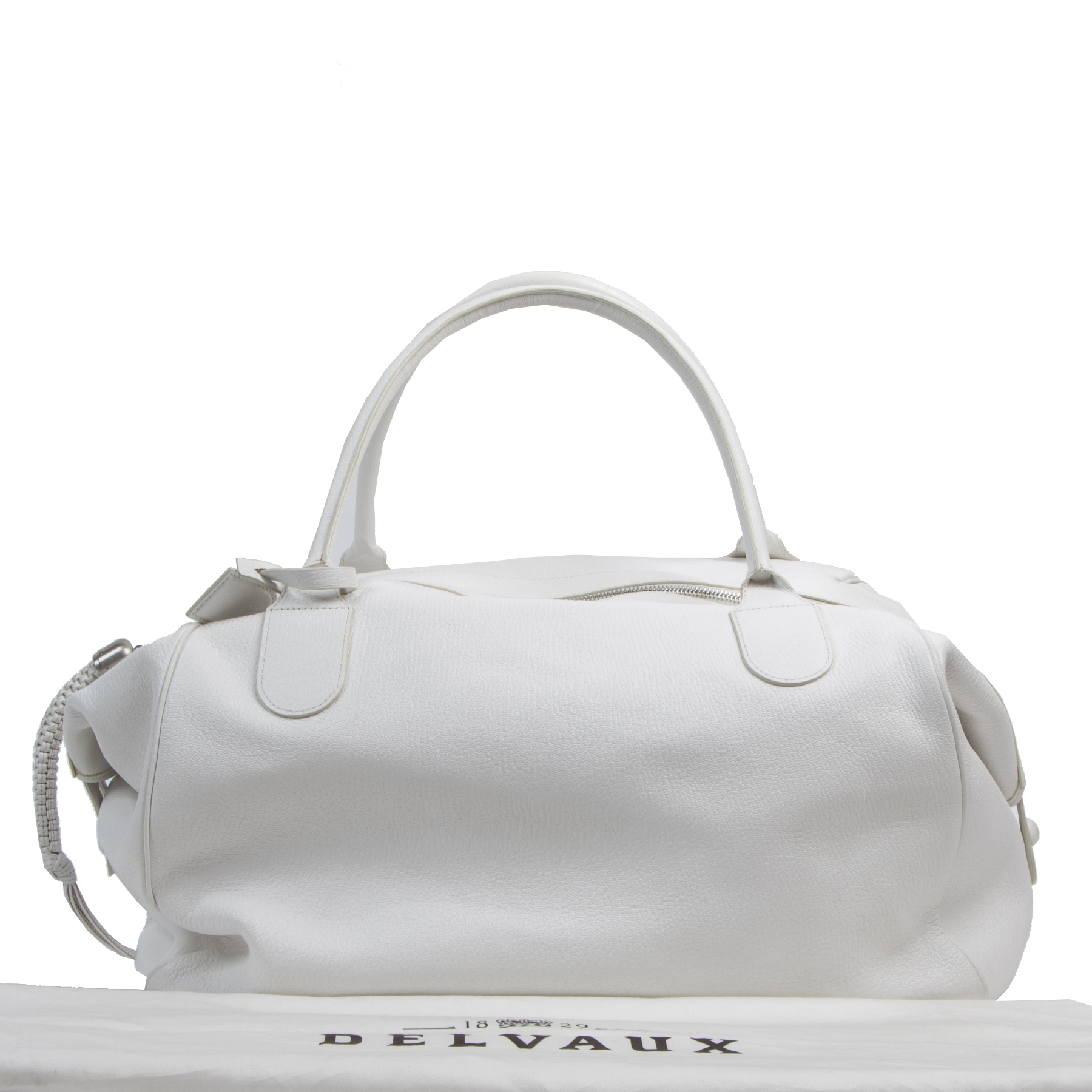 Authentic second-hand vintage Delvaux Chèvre Glacèe Emma GM buy online webshop LabelLOV