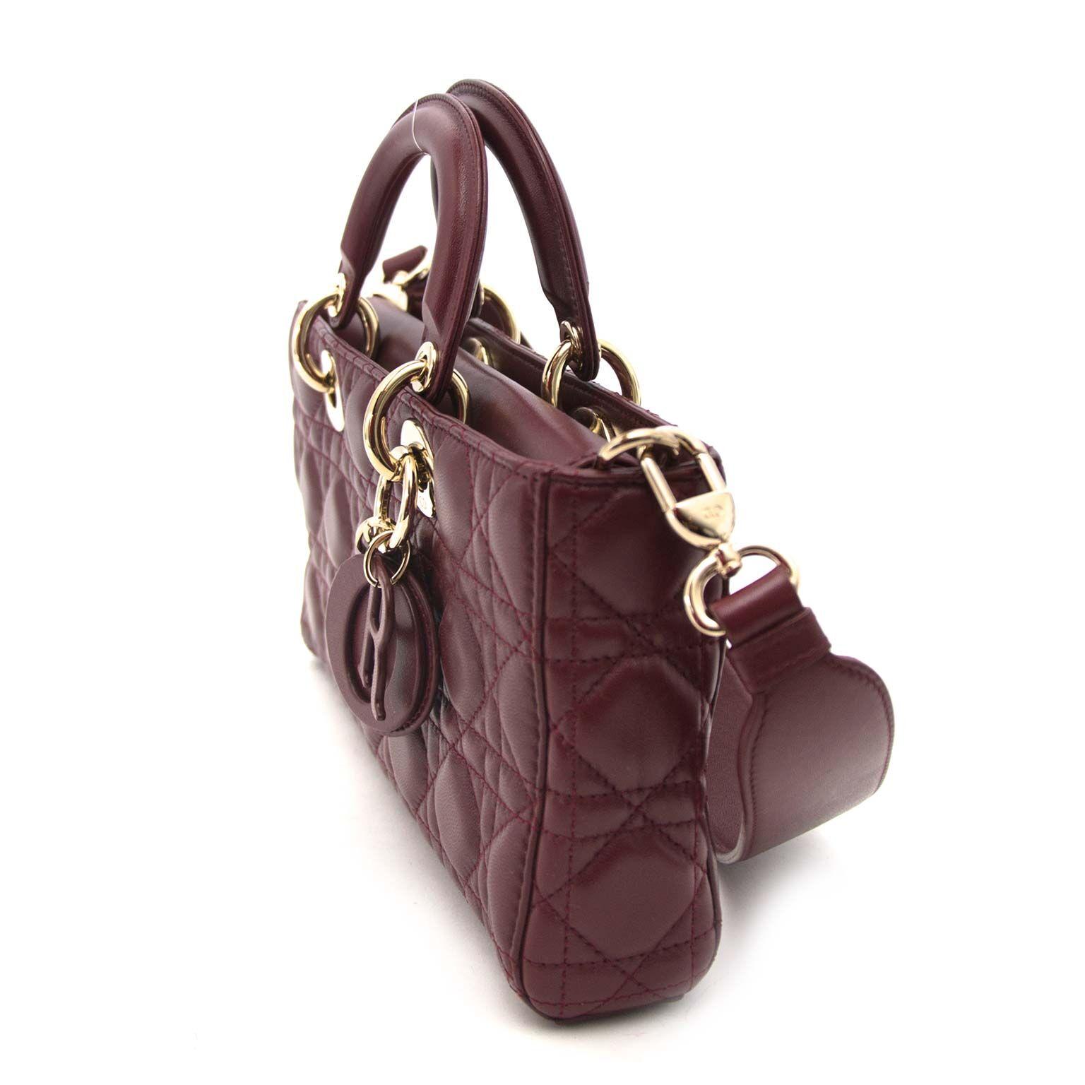 Secondhand Dior runway bag