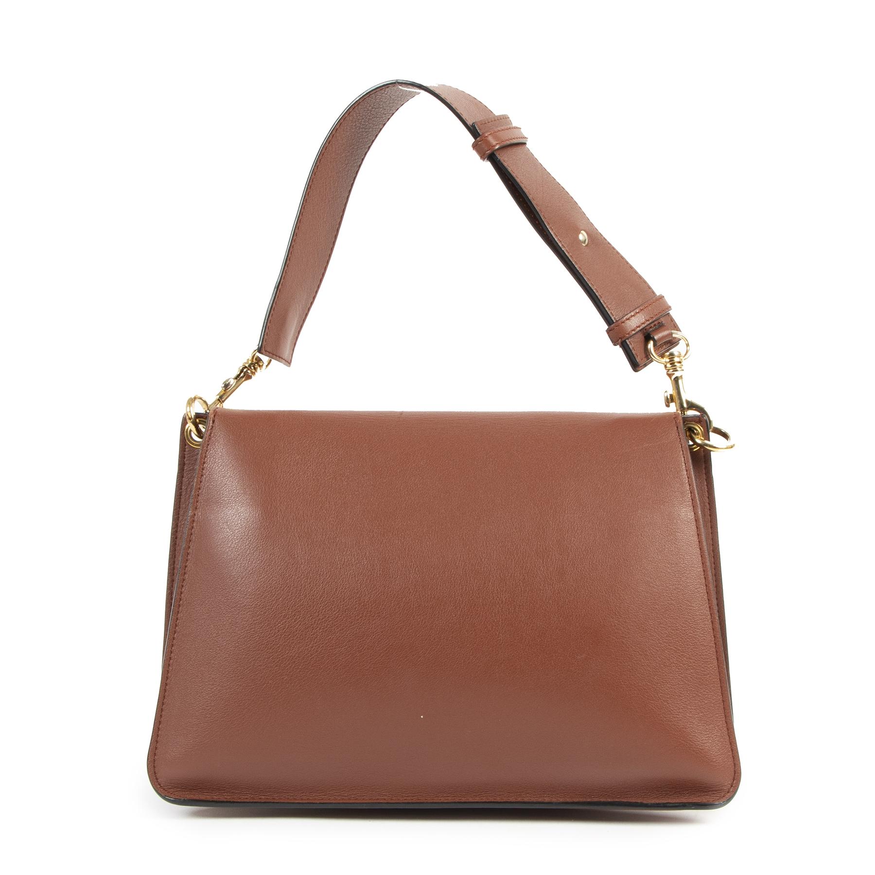 Authentieke Tweedehands JW Anderson Pierce Bag Tan Medium juiste prijs veilig online shoppen luxe merken webshop winkelen Antwerpen België mode fashion