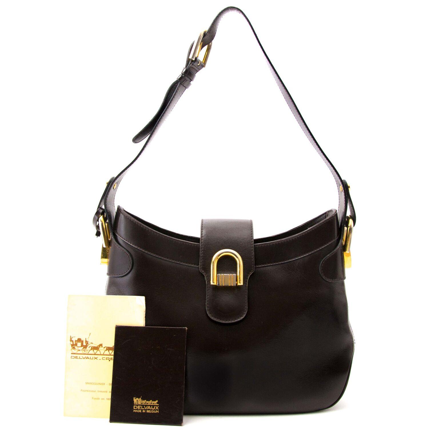 Koop online in belgië designer handtassen van Delvaux bij labellov.com