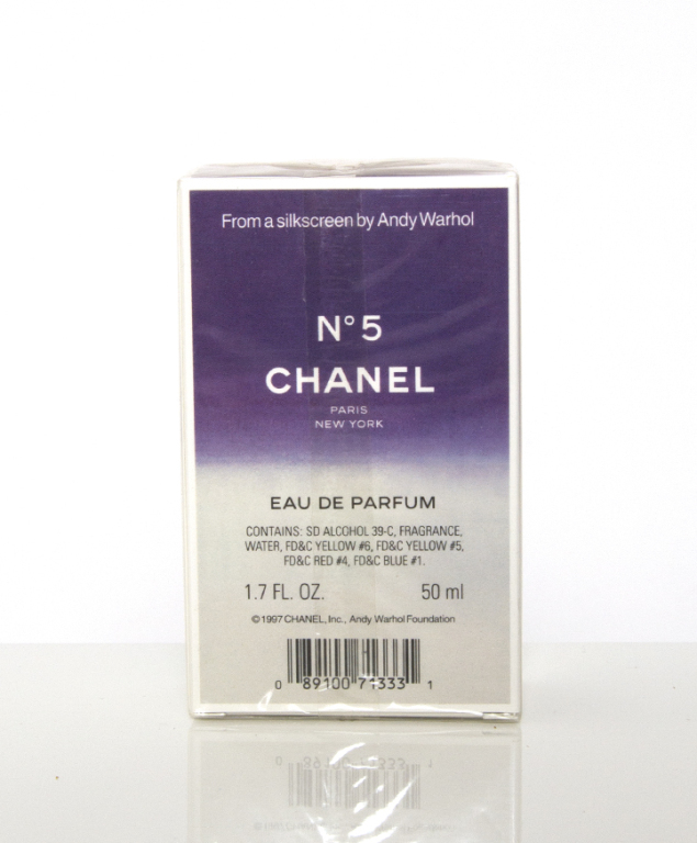 Chanel n°5 Parfum Limited Andy Warhol (50ml)