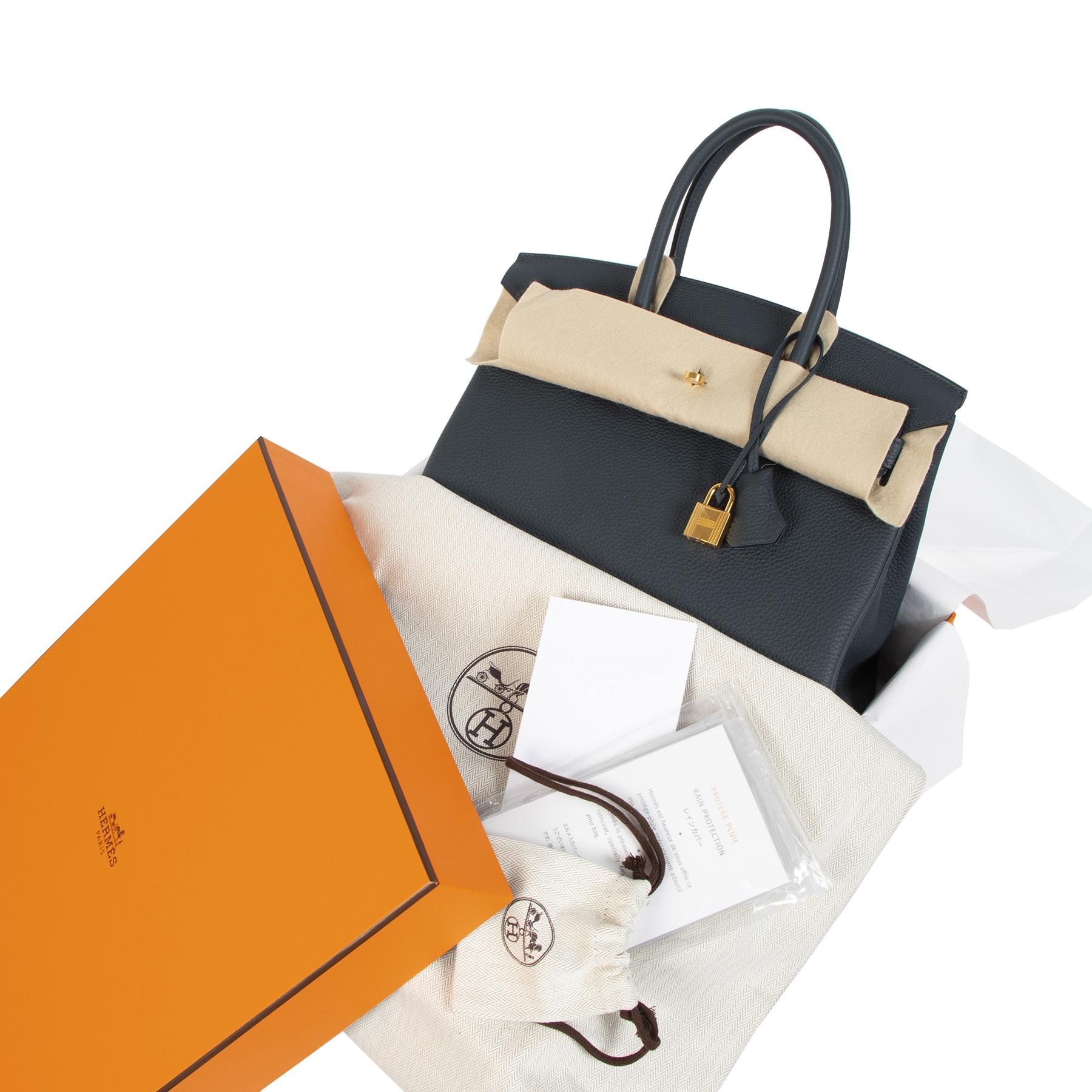 Hermès Birkin 30 Vert Rousseau Togo GHW available at Labellov secondhand luxury in Antwerp Belgium