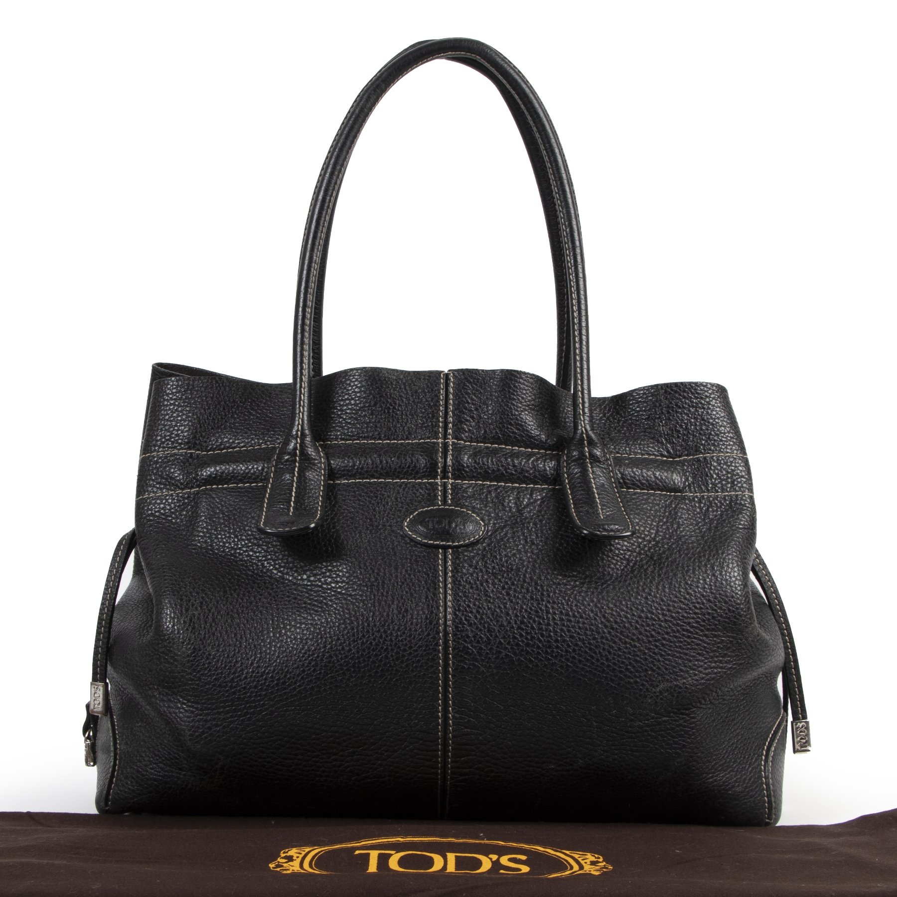 Authentic secondhand Tod's designer bags luxury vintage webshop fashion safe secure online shopping designer brands