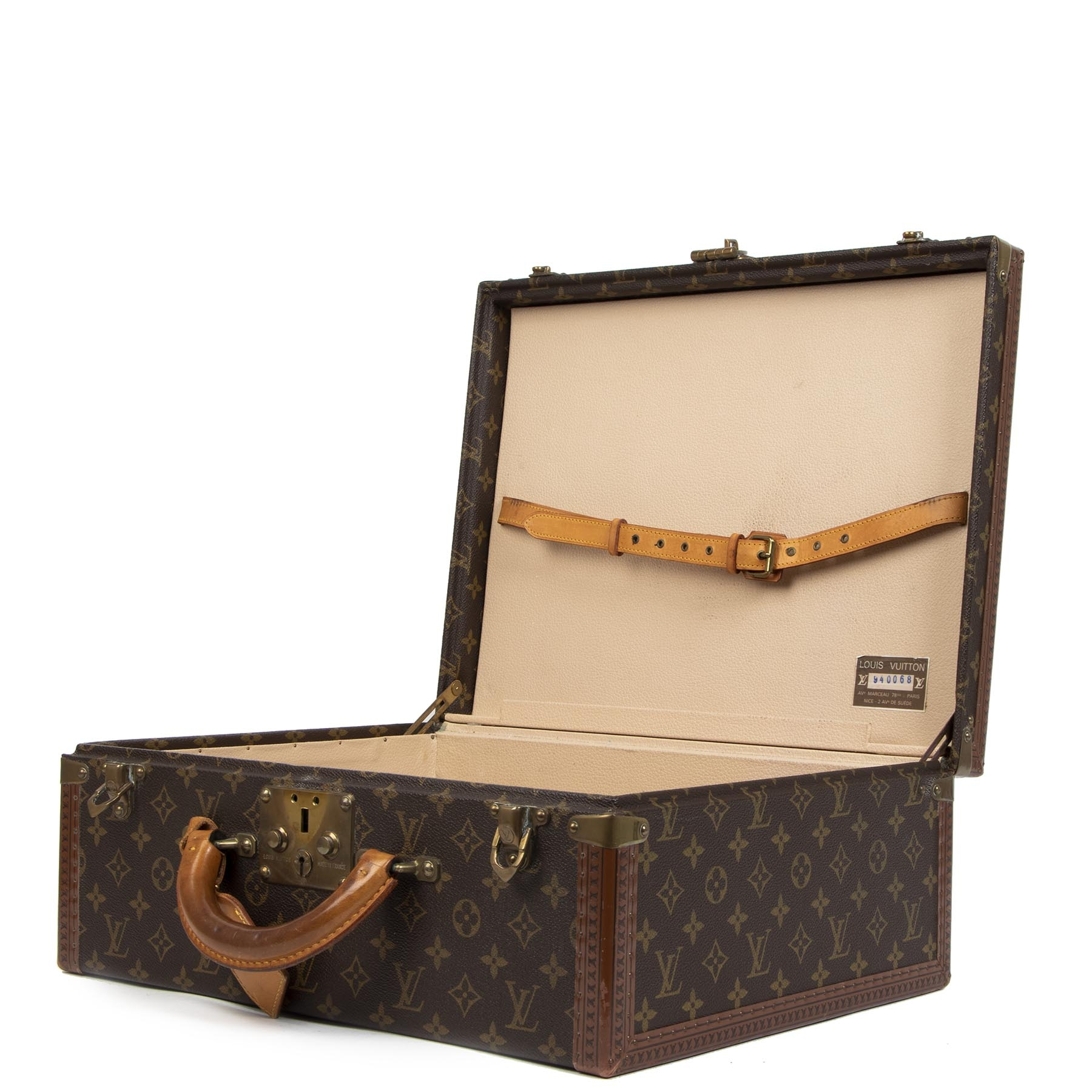 Louis Vuitton Monogram Canvas President 45 Trunk