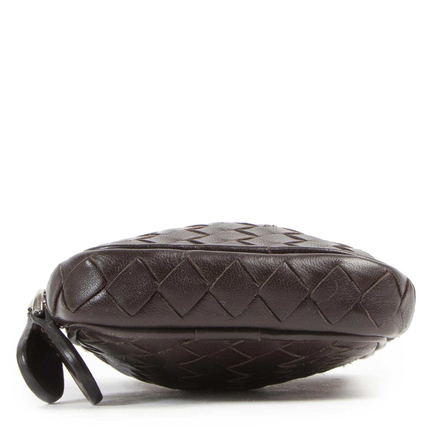 Authentieke tweedehands Bottega Veneta phoneholder wallet juiste prijs veilig online winkelen LabelLOV webshop luxe merken winkelen Antwerpen België mode fashion