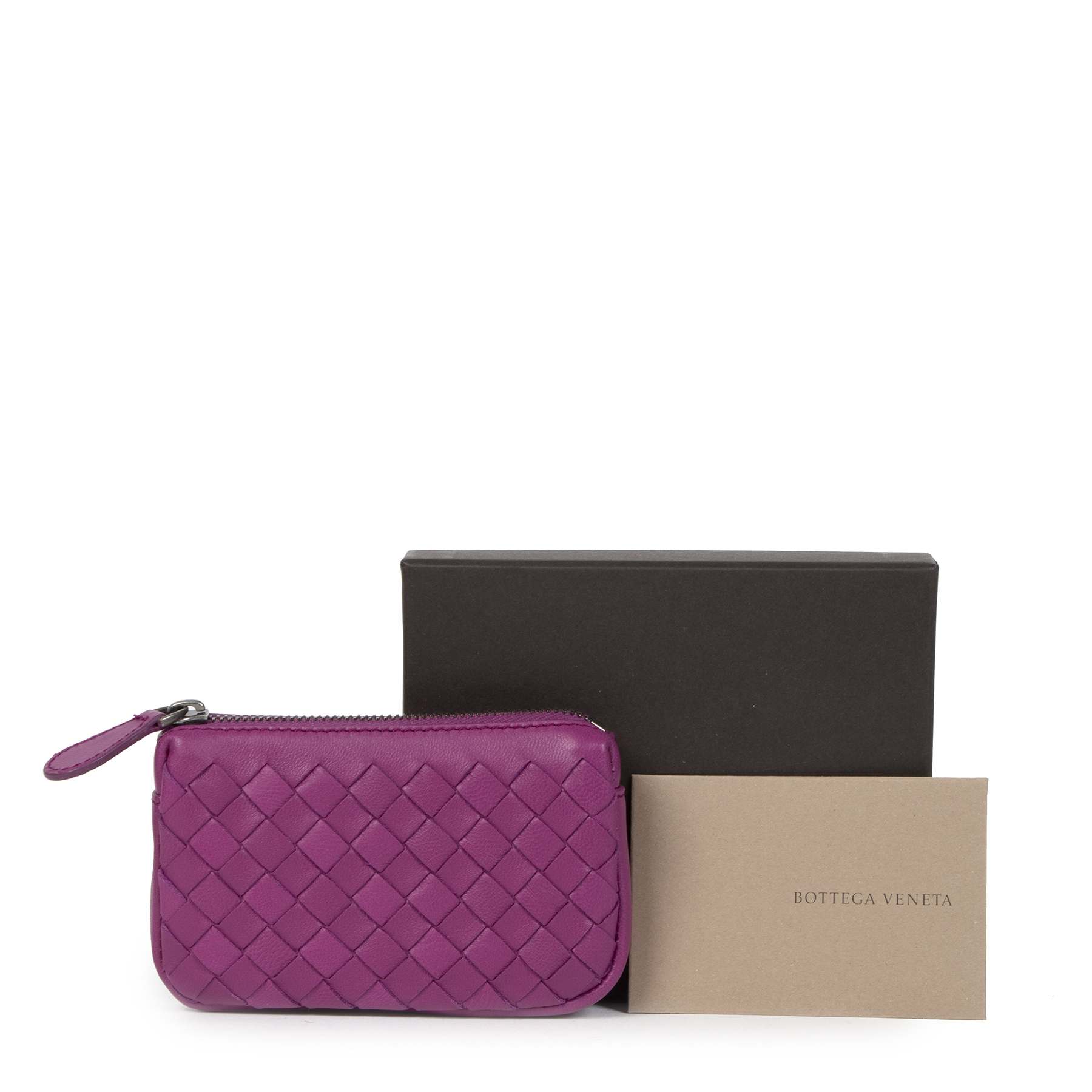 Bottega Veneta Small Purple Coin Purse