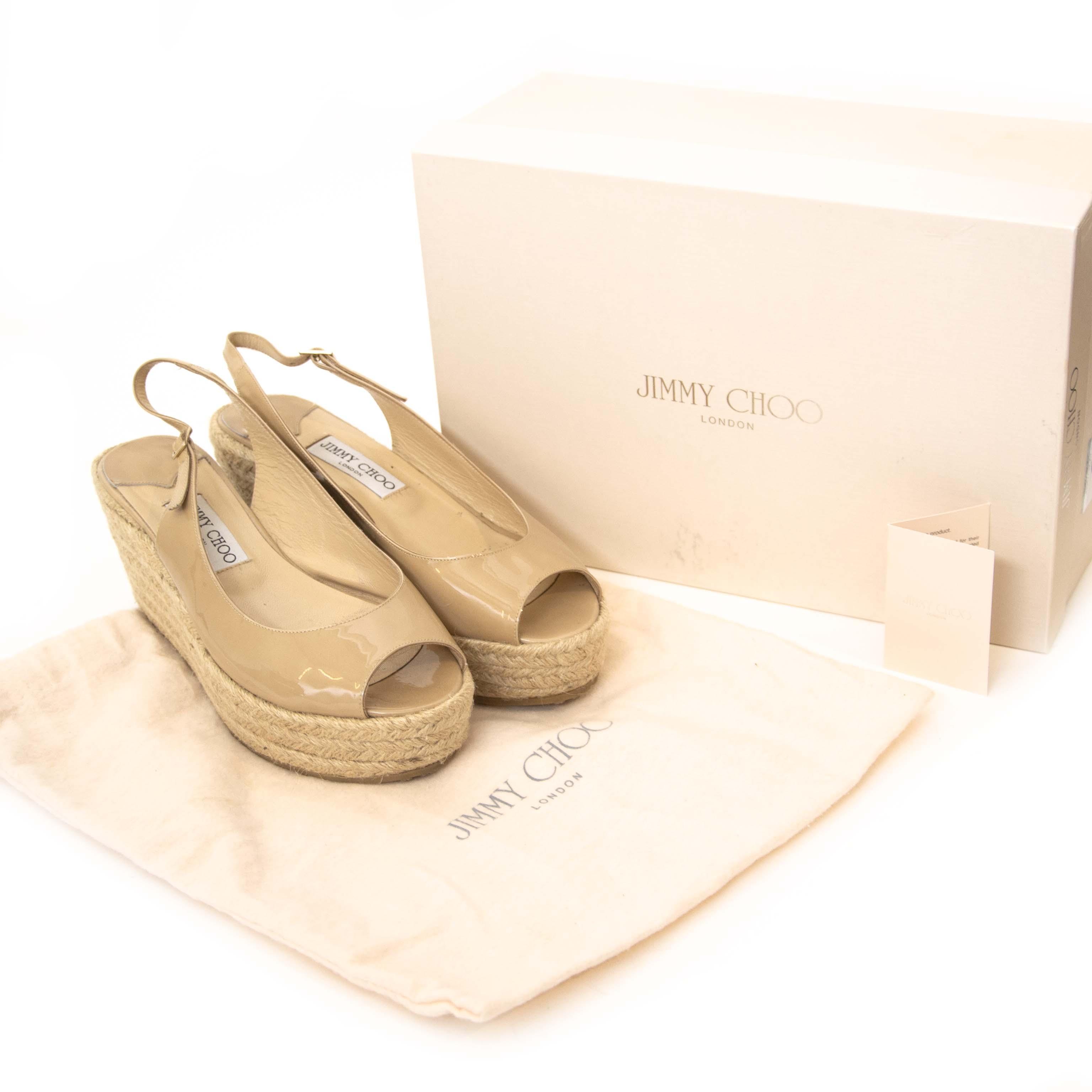 Koop Jimmy Choo schoenen aan de juiste prijs bij LabelLOV webshop