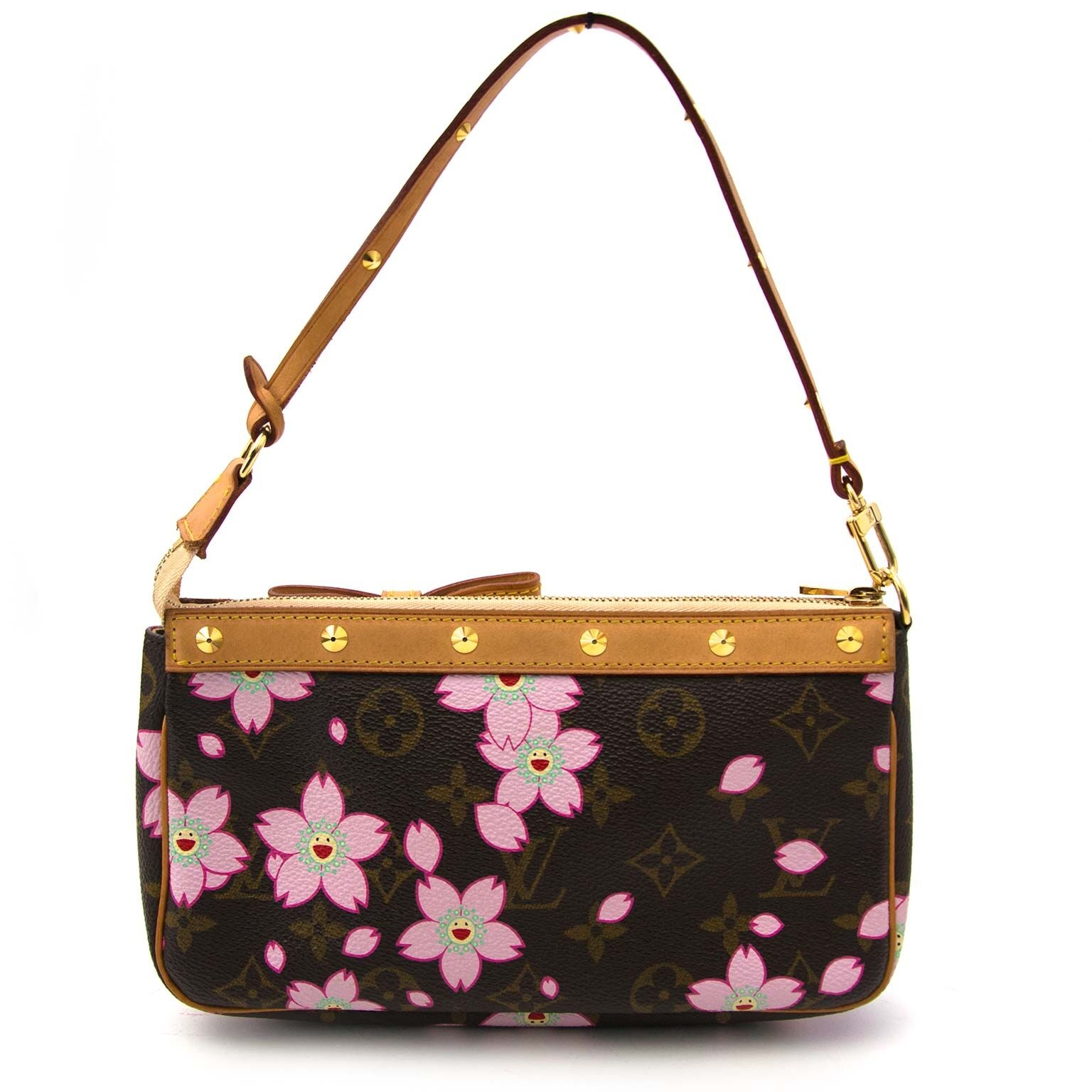 second main louis vuitton cherry blossom pochette