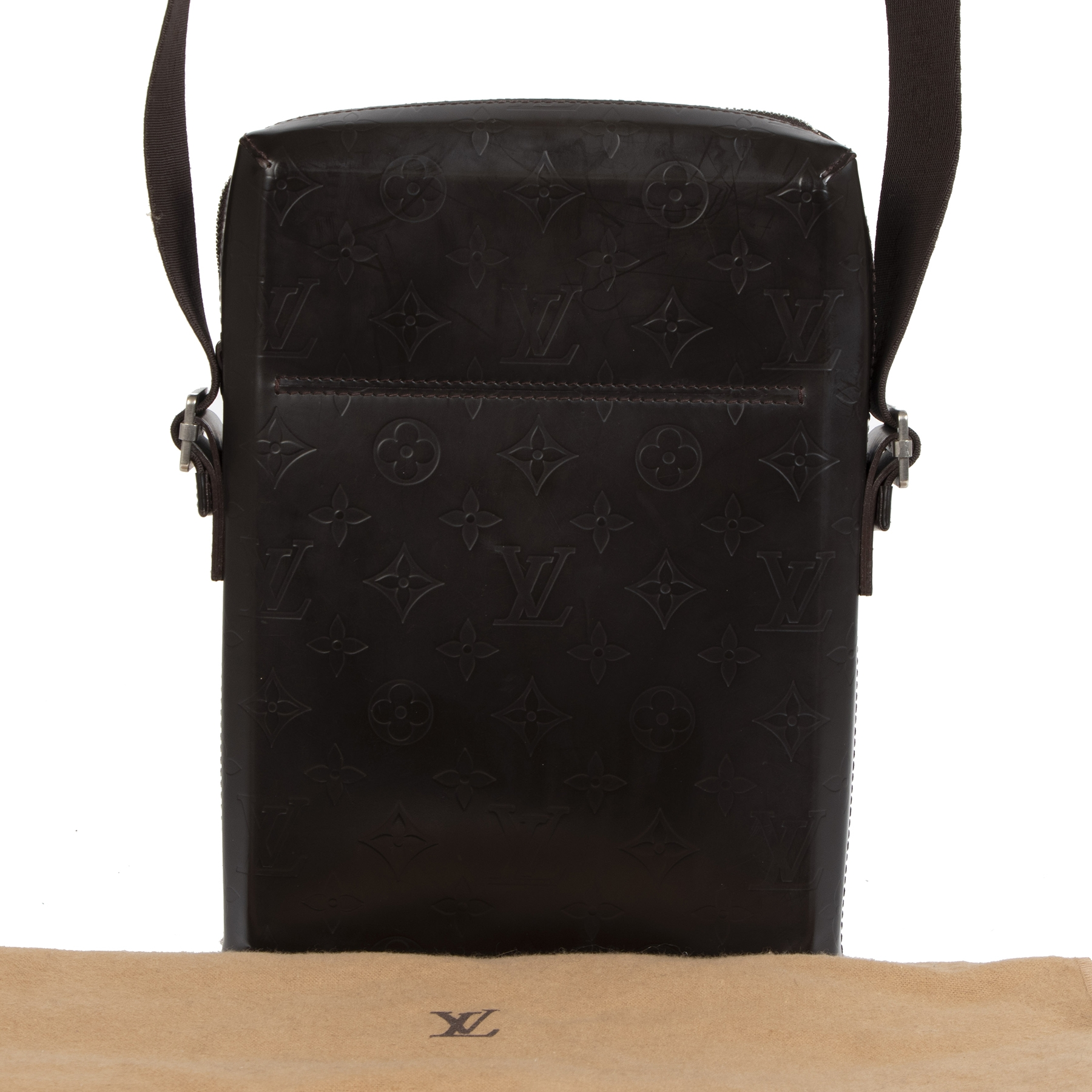 shop safe online your secondhand Monogram Glace Bobby Messenger Bag