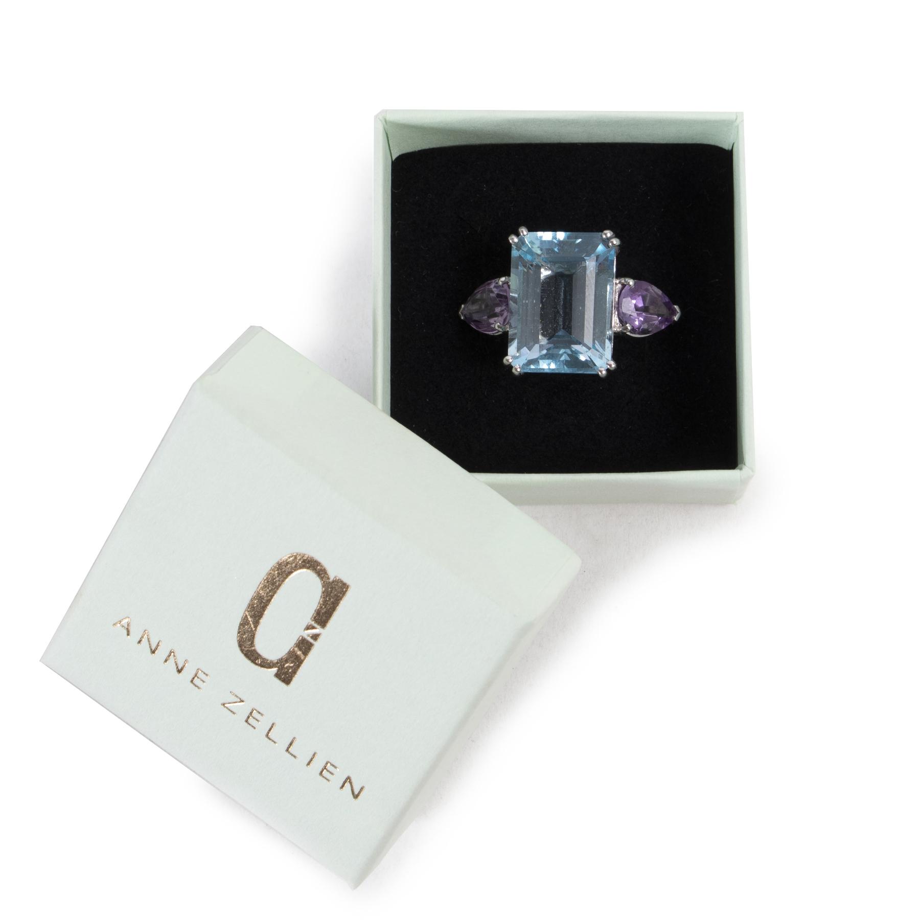 acheter en ligne seconde main Anne Zellien Ring Sterling Silver, Topaz, Citrin Ring