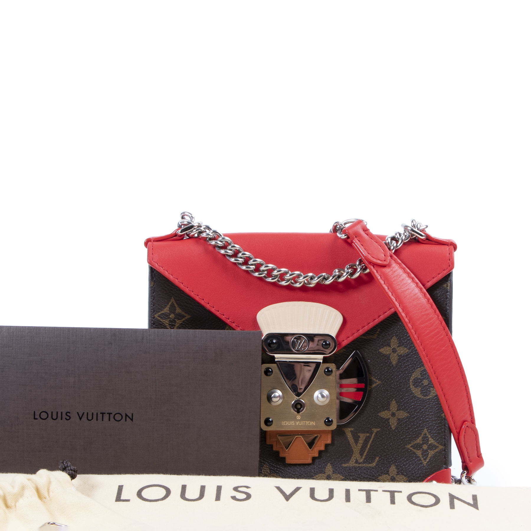 We buy and sell your authentic Louis Vuitton Monogram Pochette Mask PM Crossbody bag