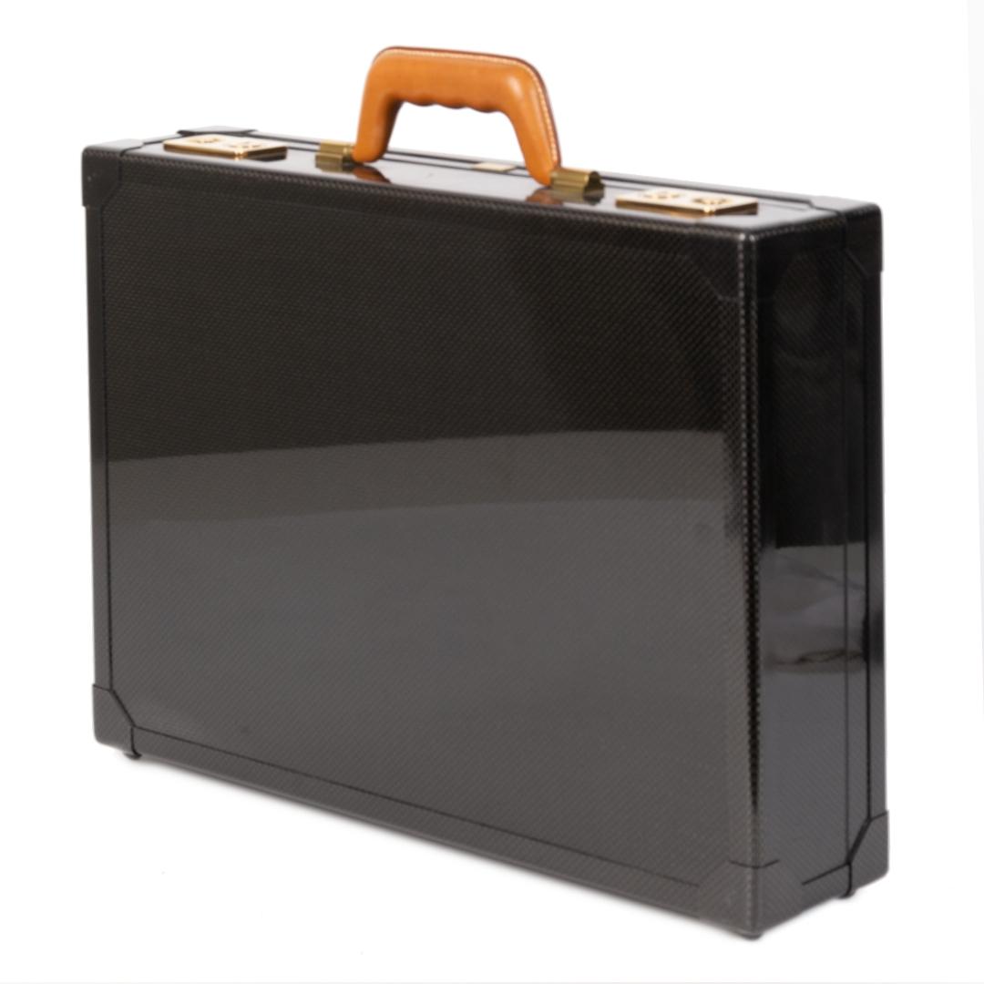 Authentieke tweedehands vintage Hermès Rare Limited Edition Briefcase koop online webshop LabelLOV