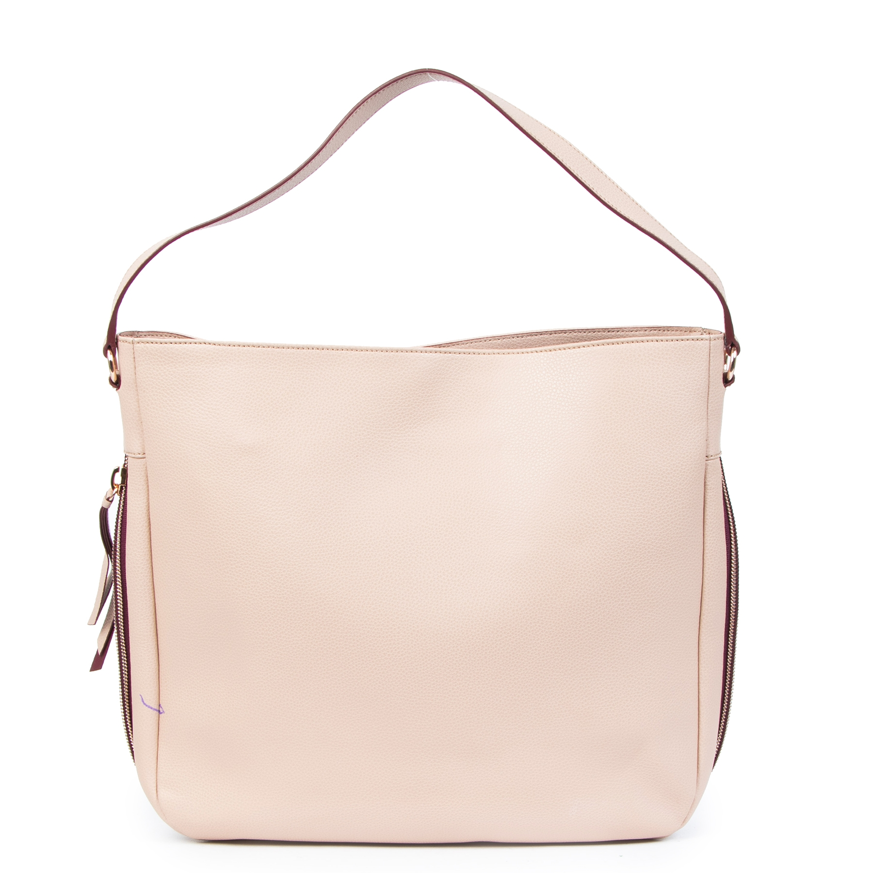 acheter en ligne seconde main Hogan Dusty Pink Zipper Tote